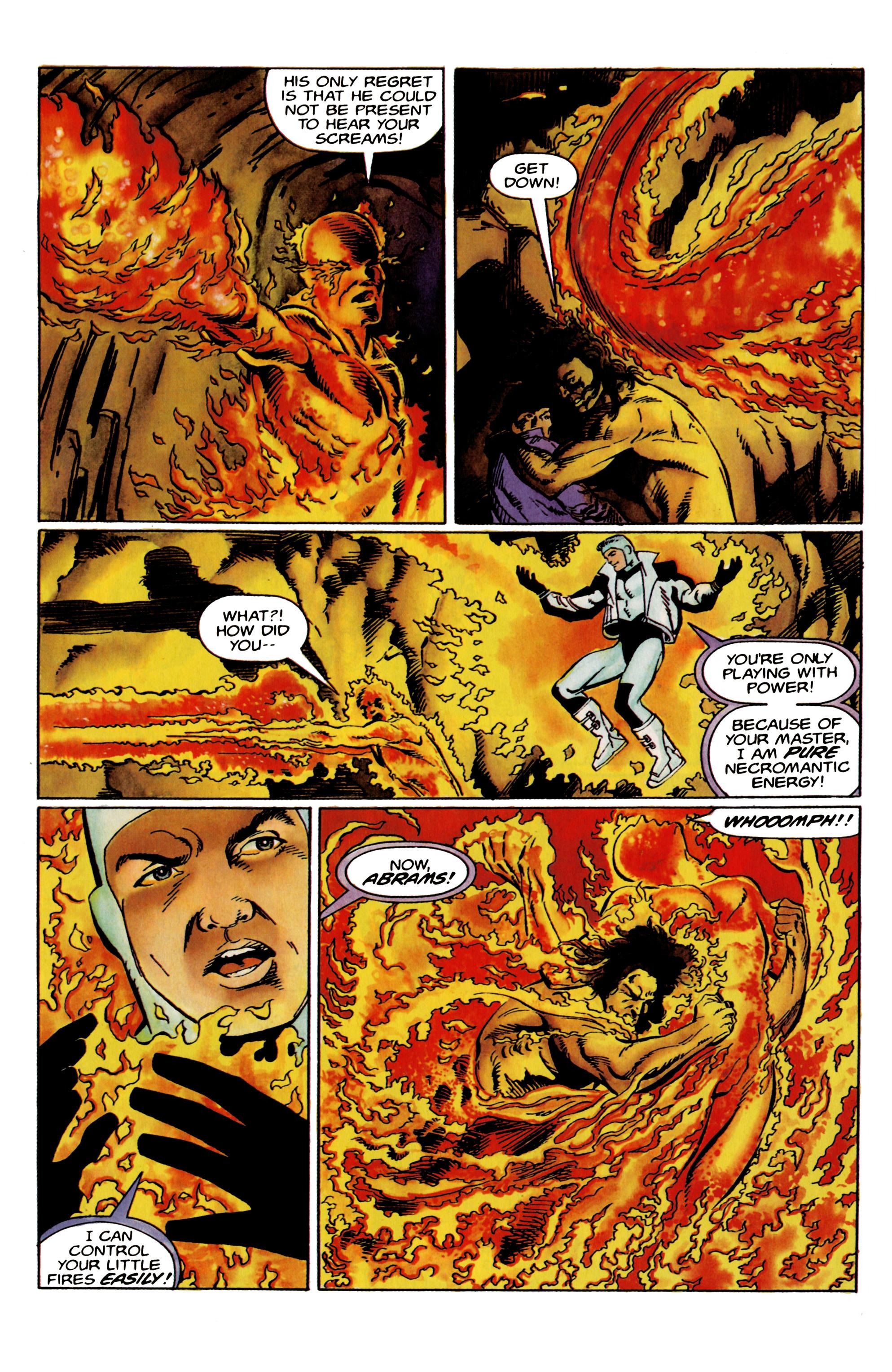 Read online Eternal Warrior (1992) comic -  Issue #19 - 19