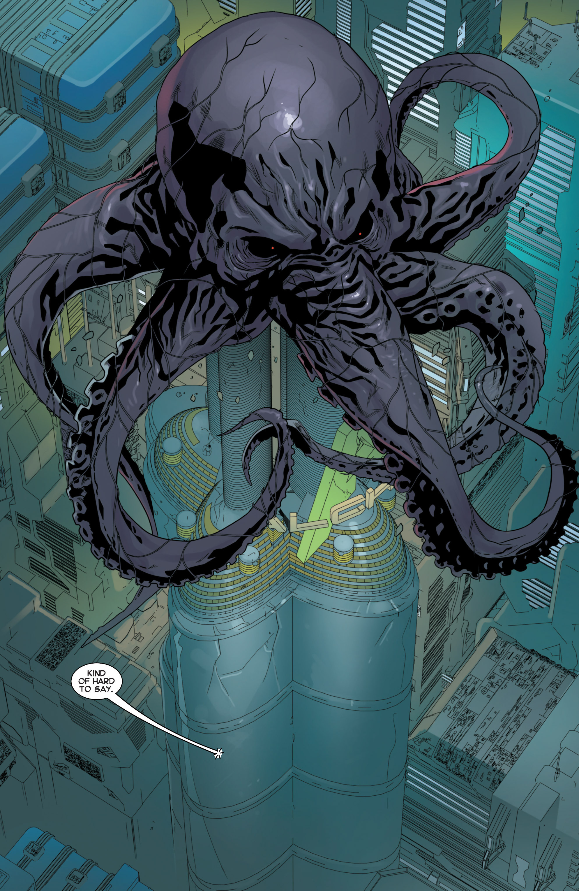Read online Secret Wars 2099 comic -  Issue #5 - 6