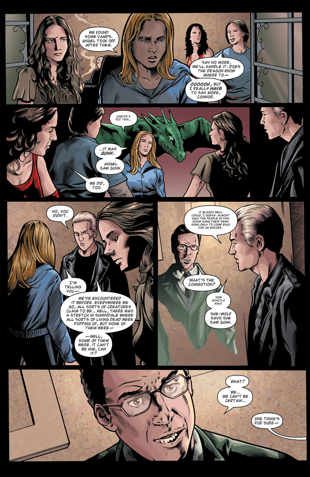 Read online Angel: After The Fall comic -  Issue #11 - 9