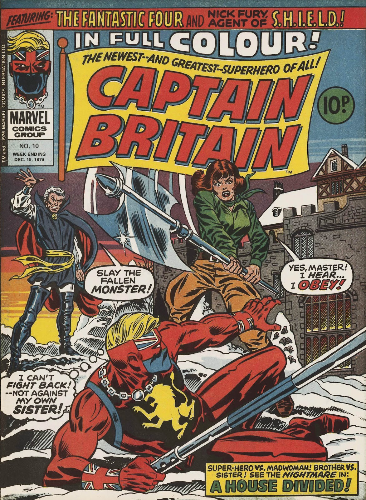 Captain Britain (1976) issue 10 - Page 1