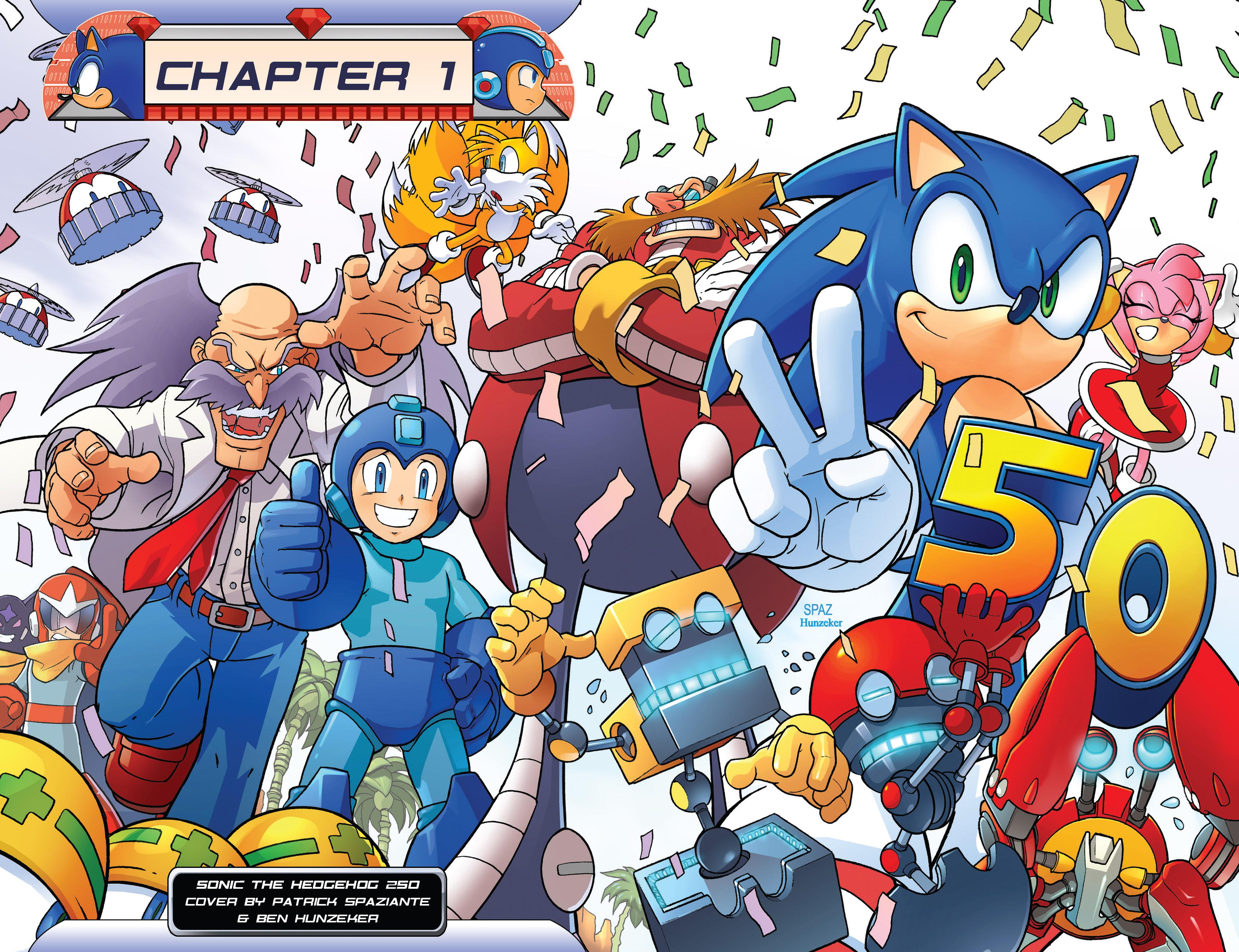 Read online Sonic Mega Man Worlds Collide comic -  Issue # Vol 3 - 6