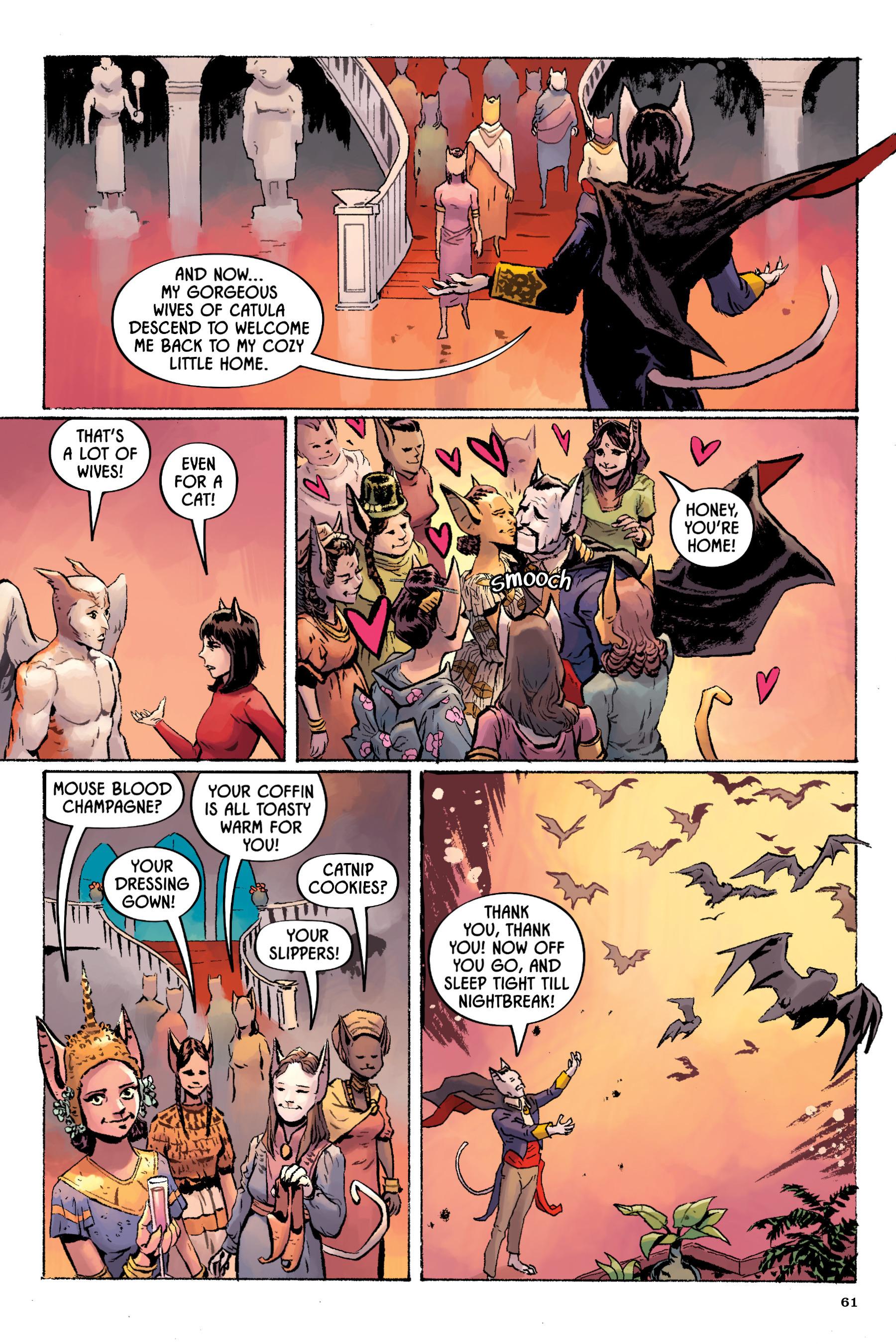 Read online Angel Catbird comic -  Issue # TPB 2 - 62