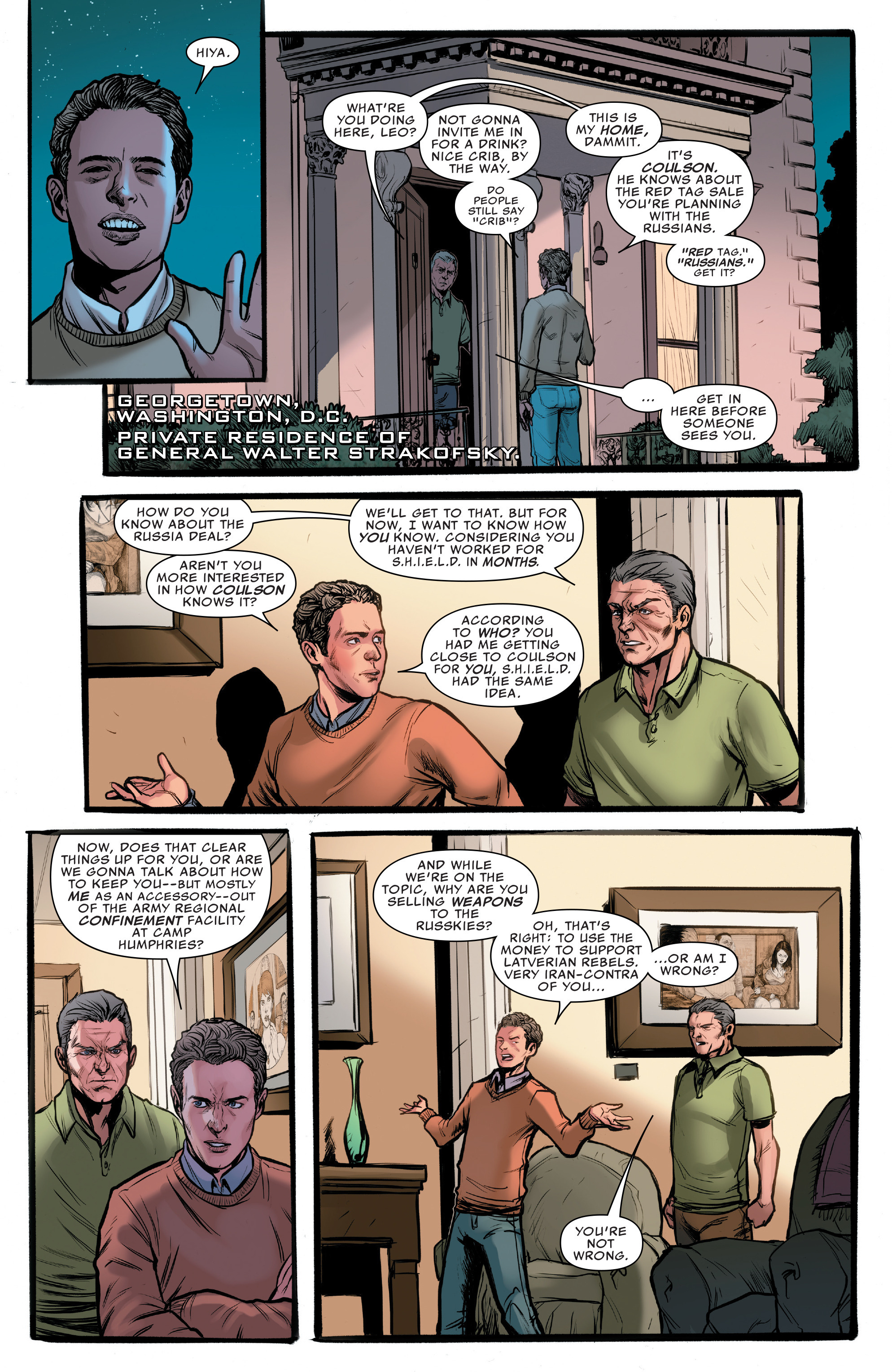 Read online Agents of S.H.I.E.L.D. comic -  Issue #10 - 8