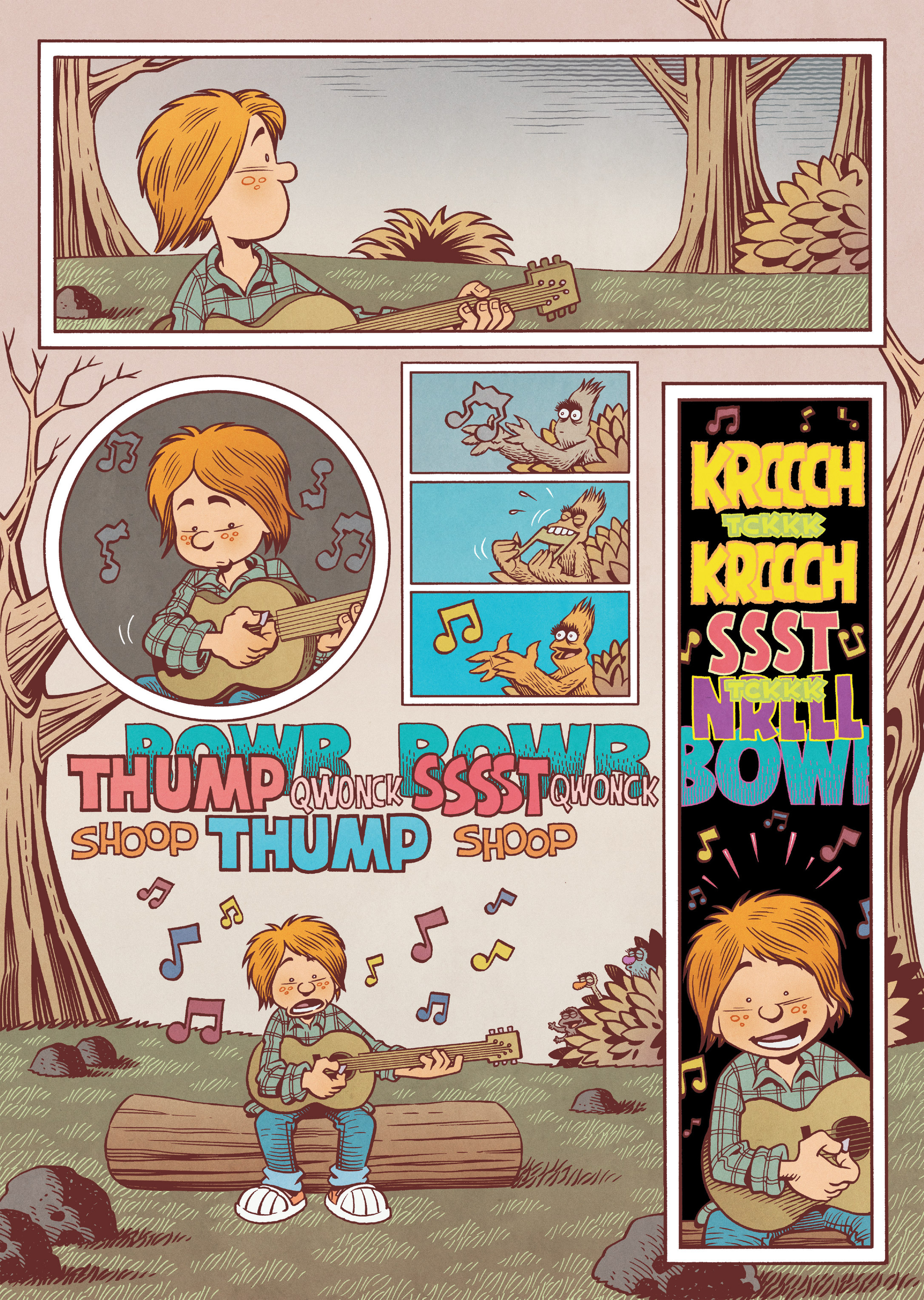 Read online Jim Henson's The Musical Monsters of Turkey Hollow comic -  Issue # Full - 30