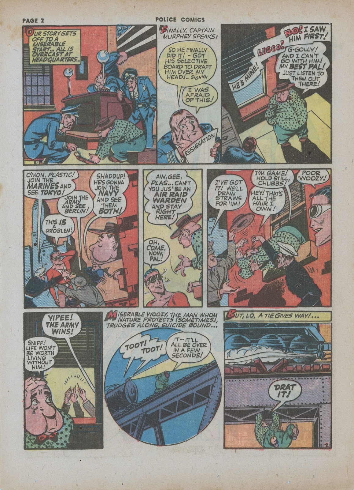 Police Comics issue 18 - Page 4