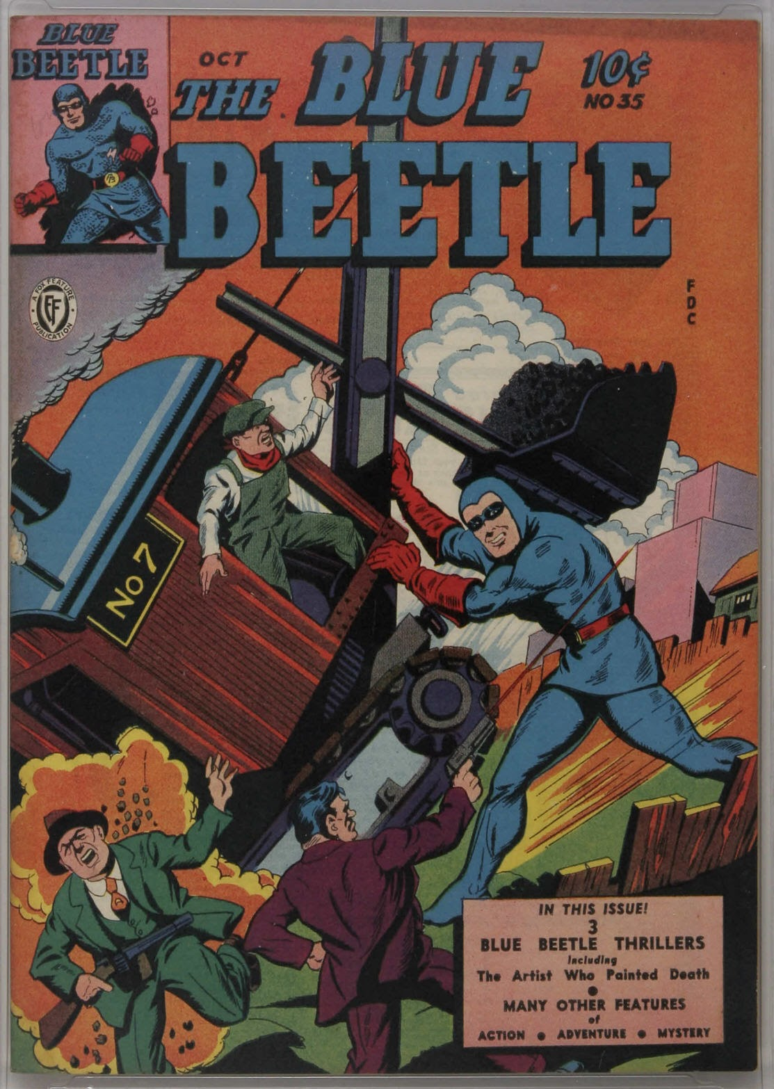 The Blue Beetle issue 35 - Page 1