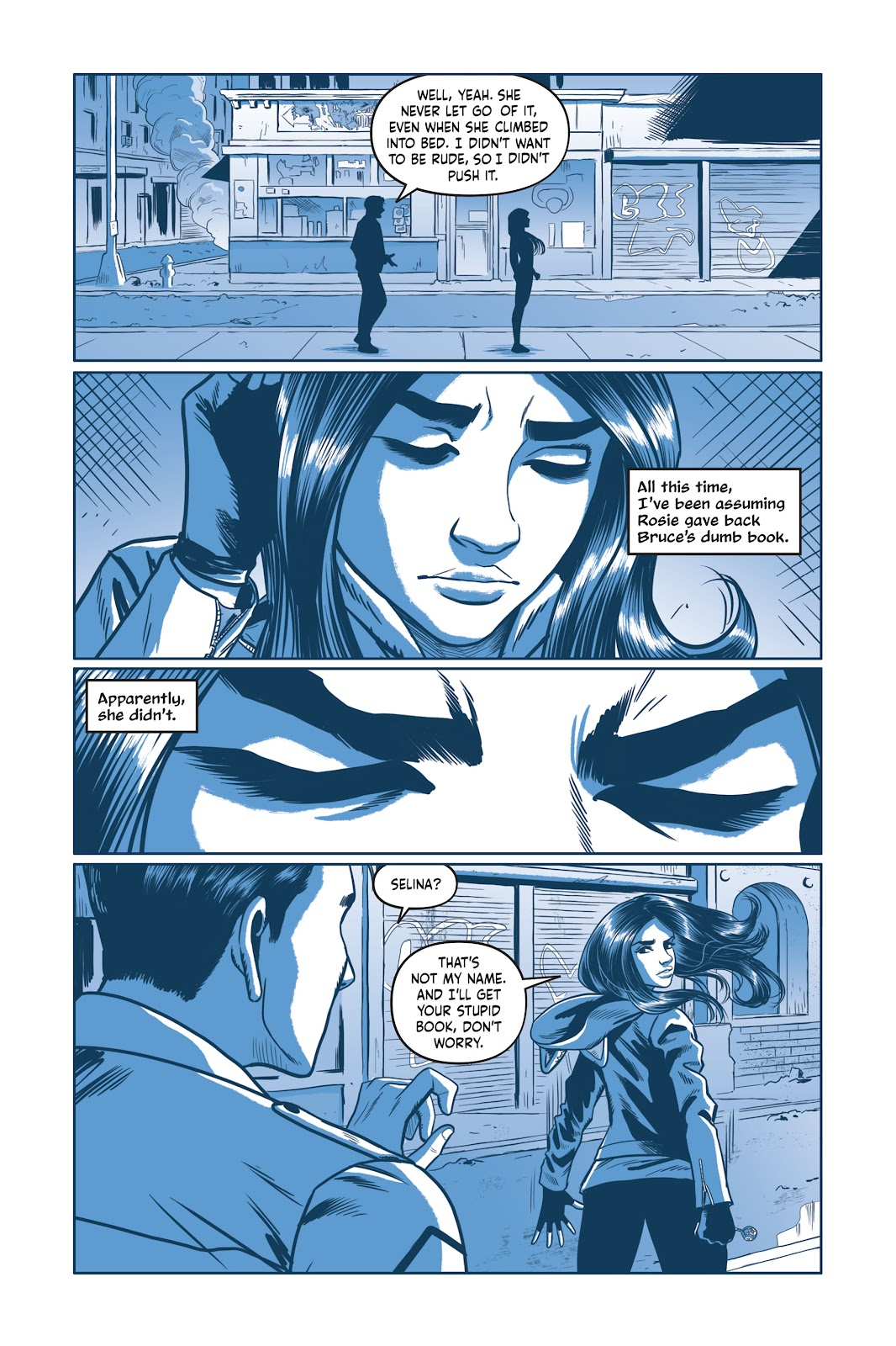 Read online Under the Moon: A Catwoman Tale comic -  Issue # TPB (Part 2) - 66