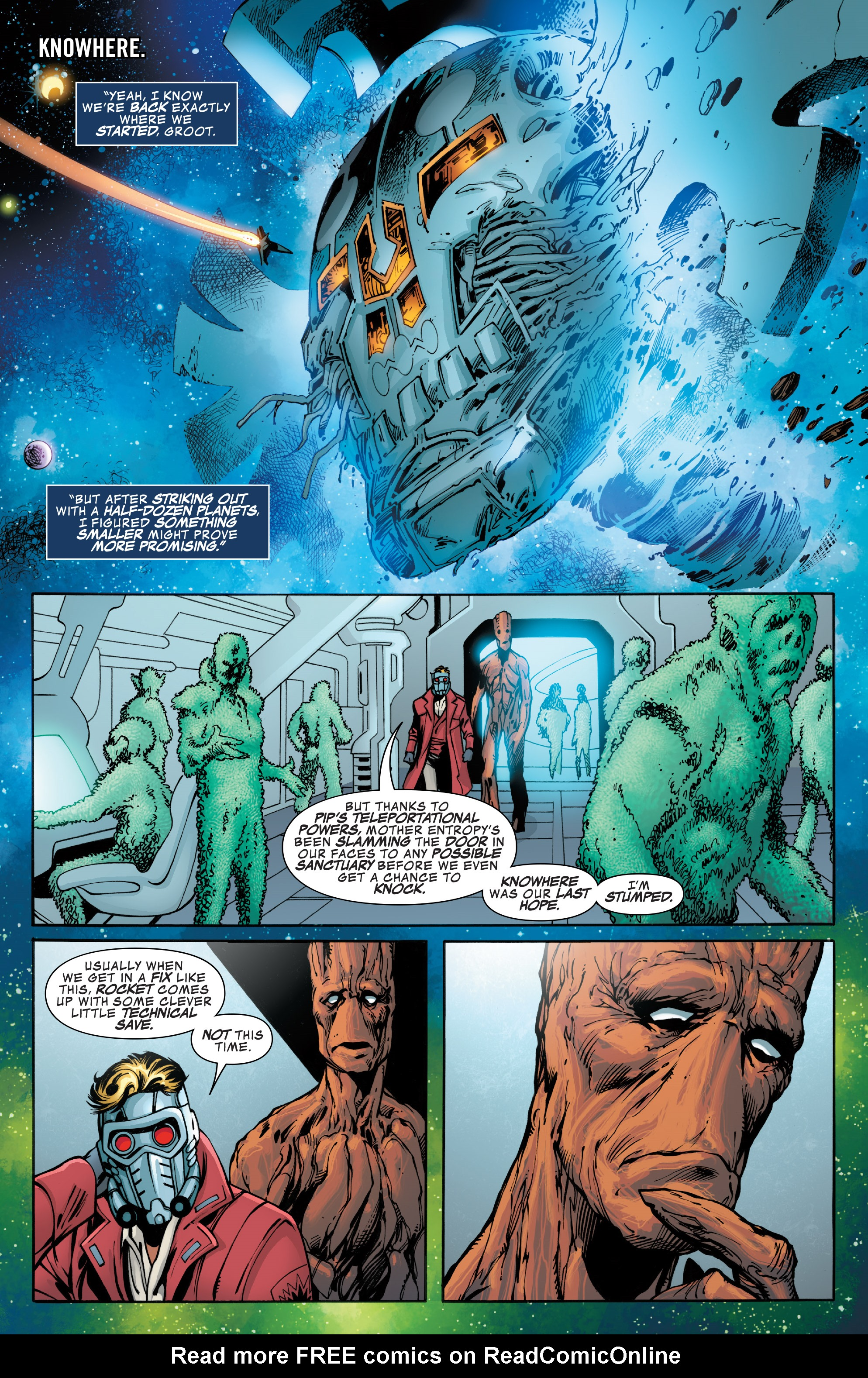 Read online Guardians of the Galaxy: Mother Entropy comic -  Issue #4 - 19