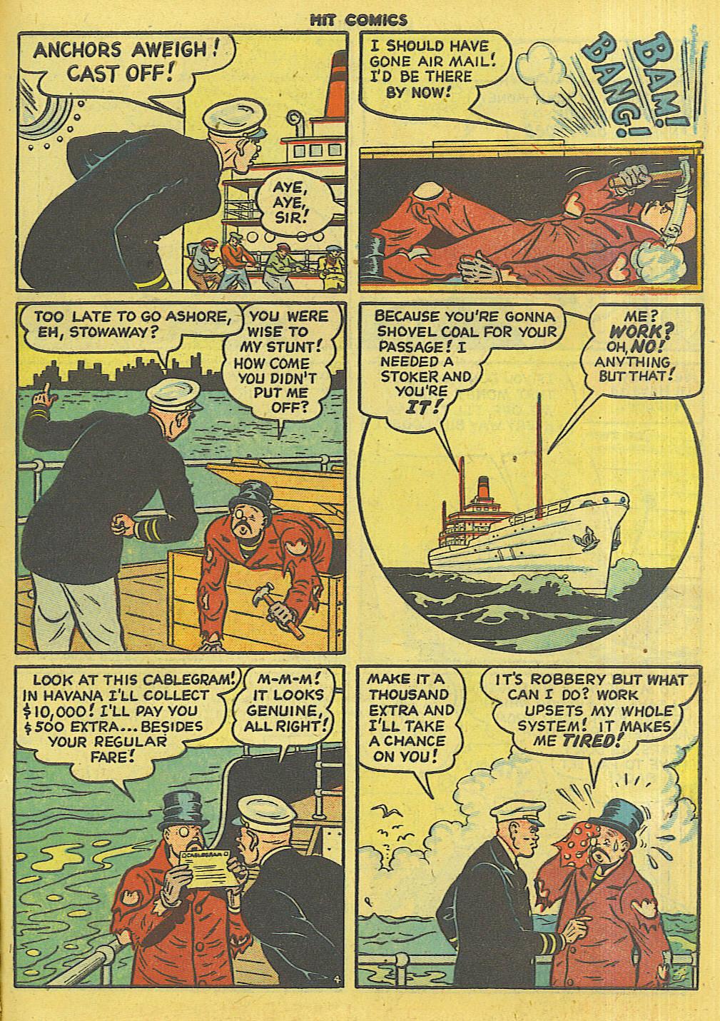 Read online Hit Comics comic -  Issue #56 - 41
