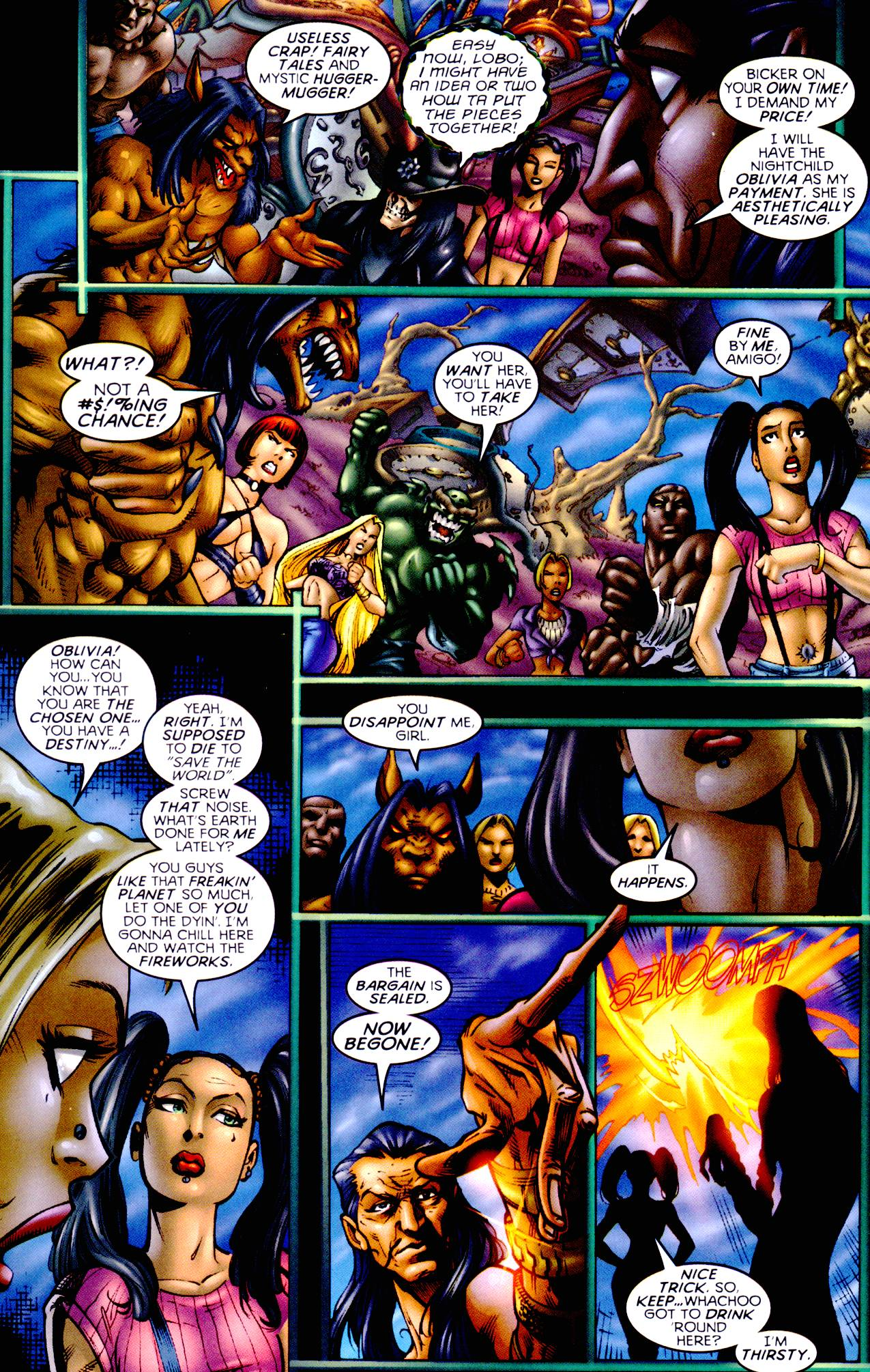 Read online Armageddon (1999) comic -  Issue #3 - 13