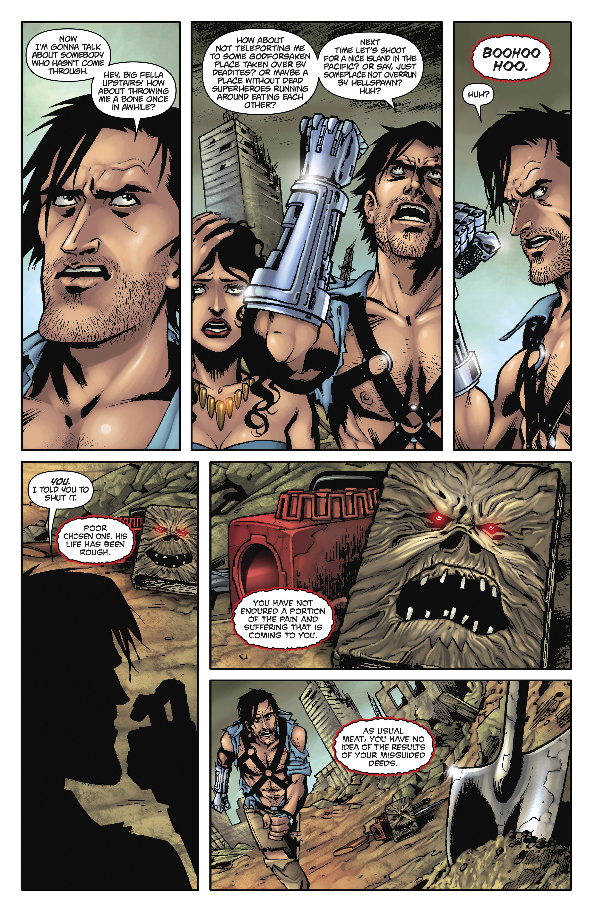 Read online Army of Darkness: The Long Road Home comic -  Issue #Army of Darkness: The Long Road Home TPB - 22