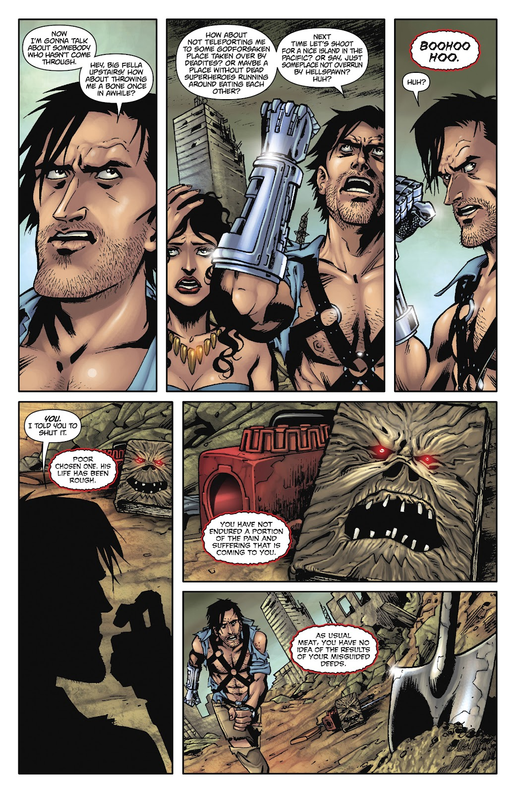 Army of Darkness: The Long Road Home issue TPB - Page 22