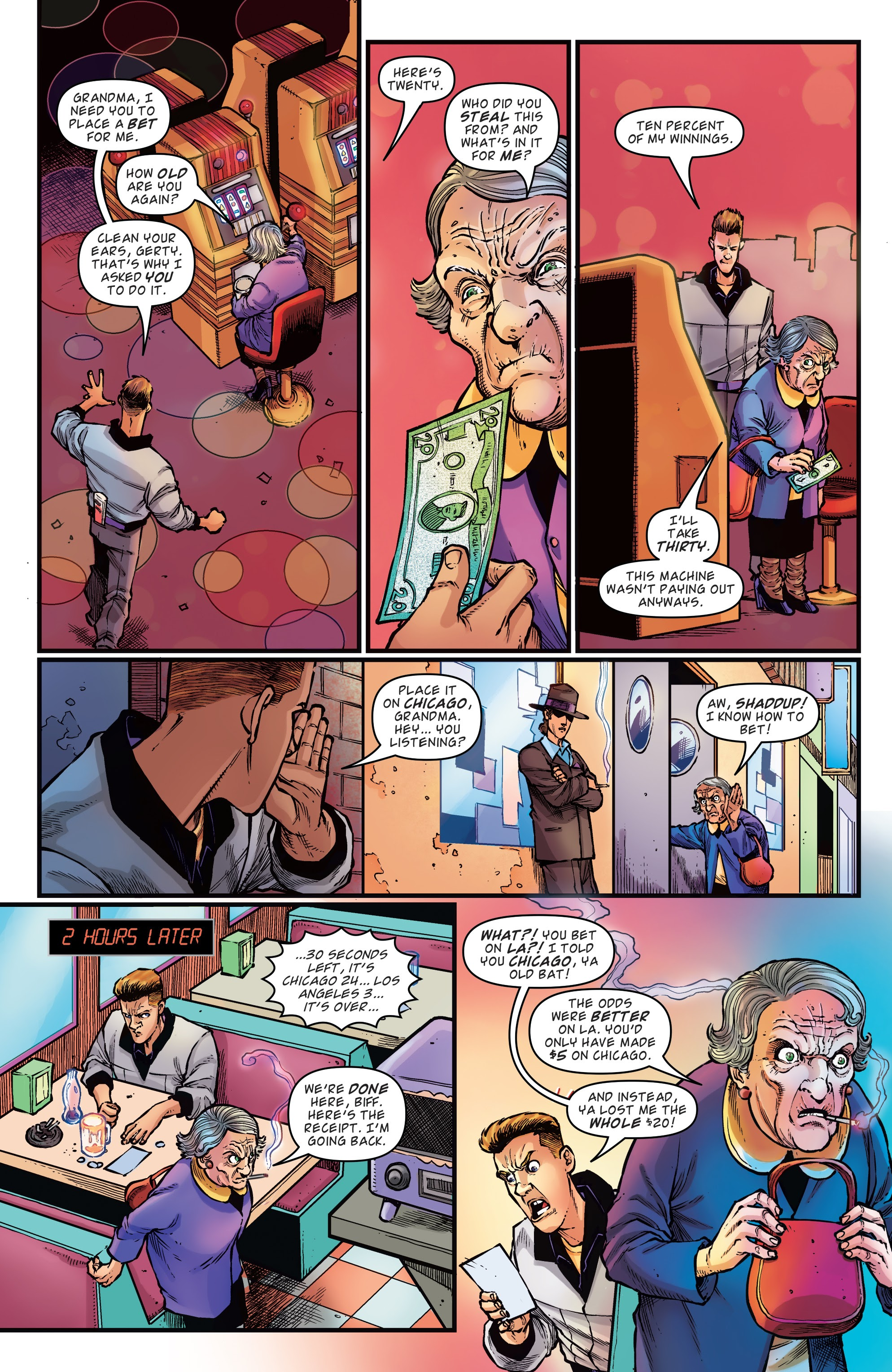 Read online Back to the Future: Biff to the Future comic -  Issue #1 - 7