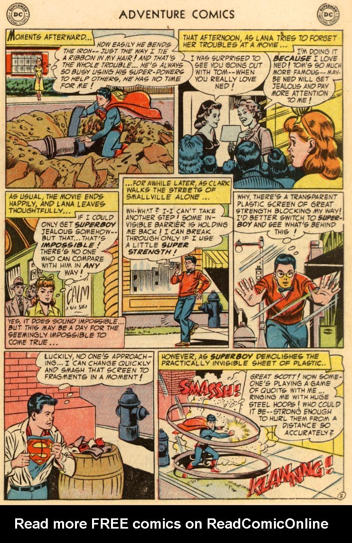 Read online Adventure Comics (1938) comic -  Issue #195 - 5