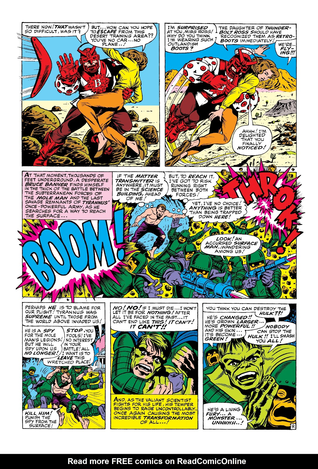 Read online Marvel Masterworks: The Incredible Hulk comic -  Issue # TPB 3 (Part 1) - 27