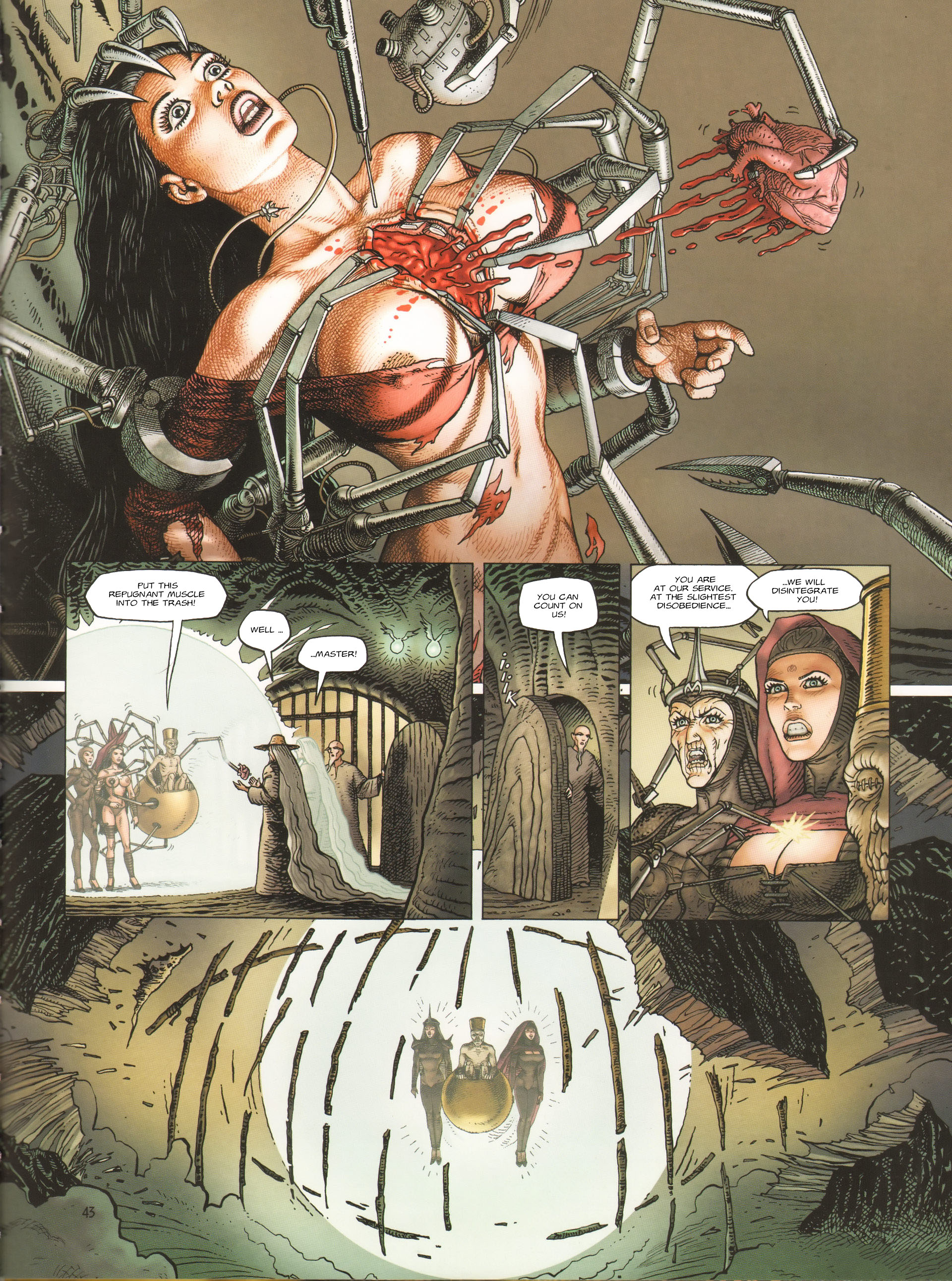 Read online Megalex (2014) comic -  Issue #3 - 46