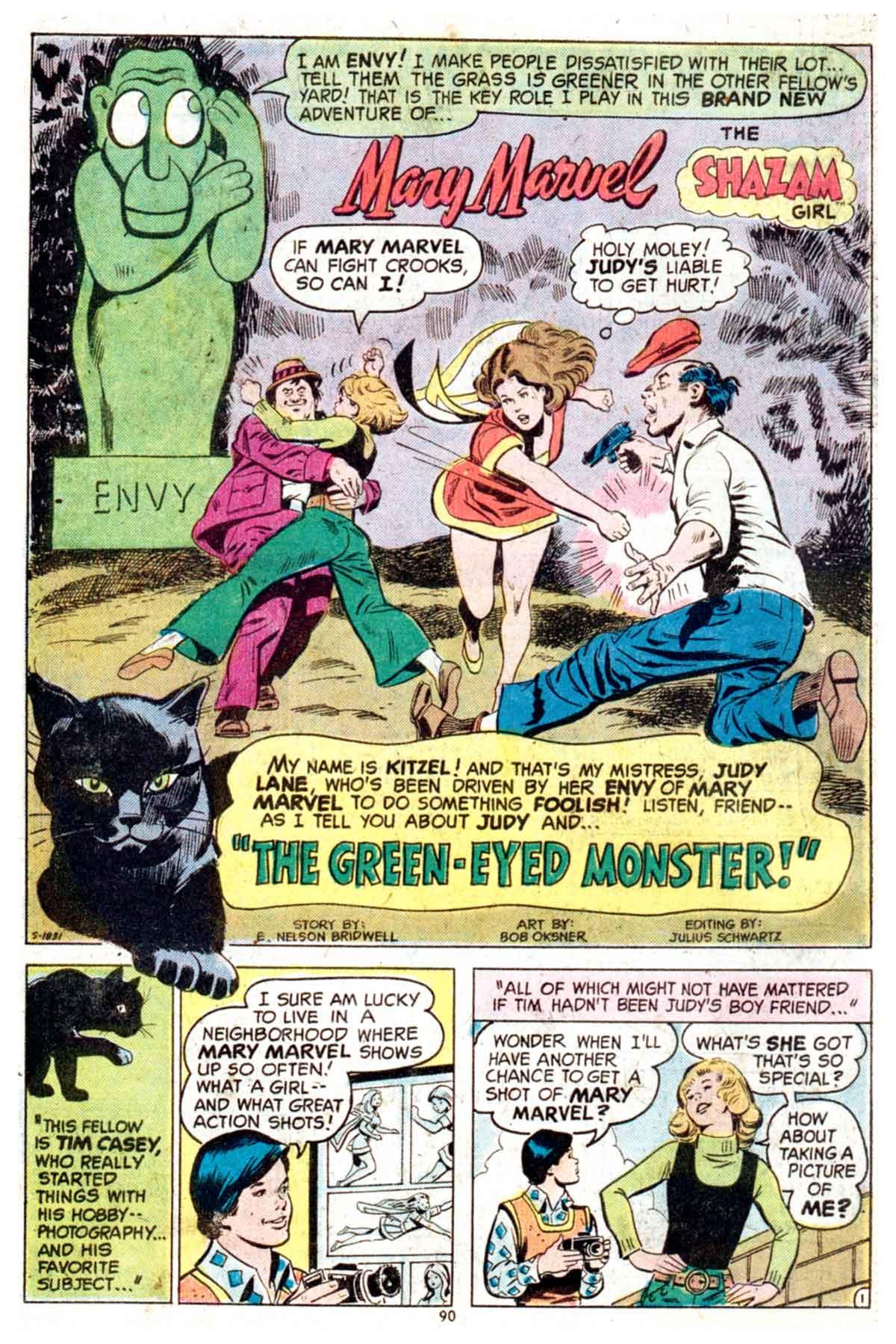 Read online Shazam! (1973) comic -  Issue #16 - 90