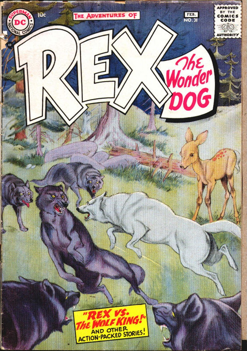The Adventures of Rex the Wonder Dog issue 31 - Page 1