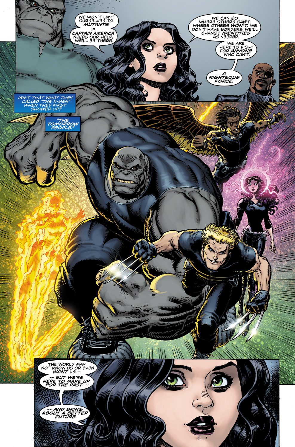Read online Ultimate X comic -  Issue #5 - 20