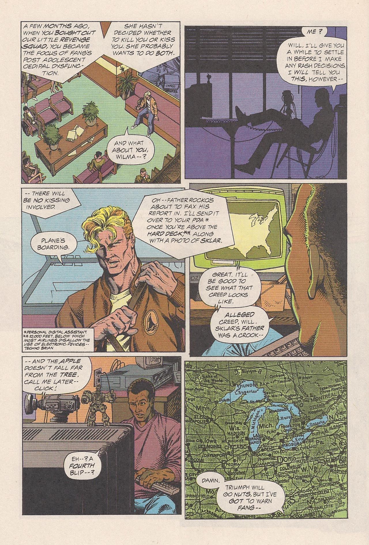 Read online Triumph comic -  Issue #2 - 20