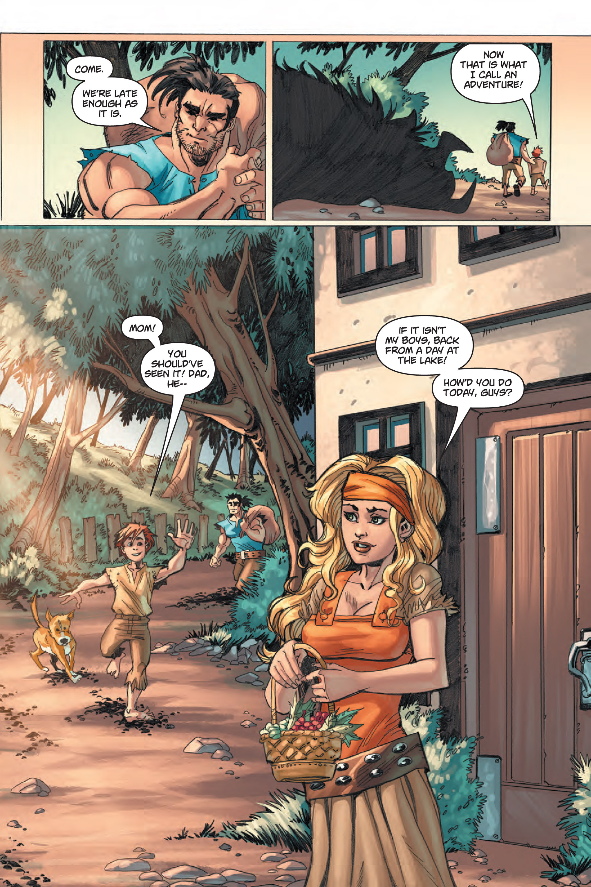 Read online Skyward comic -  Issue #1 - 11