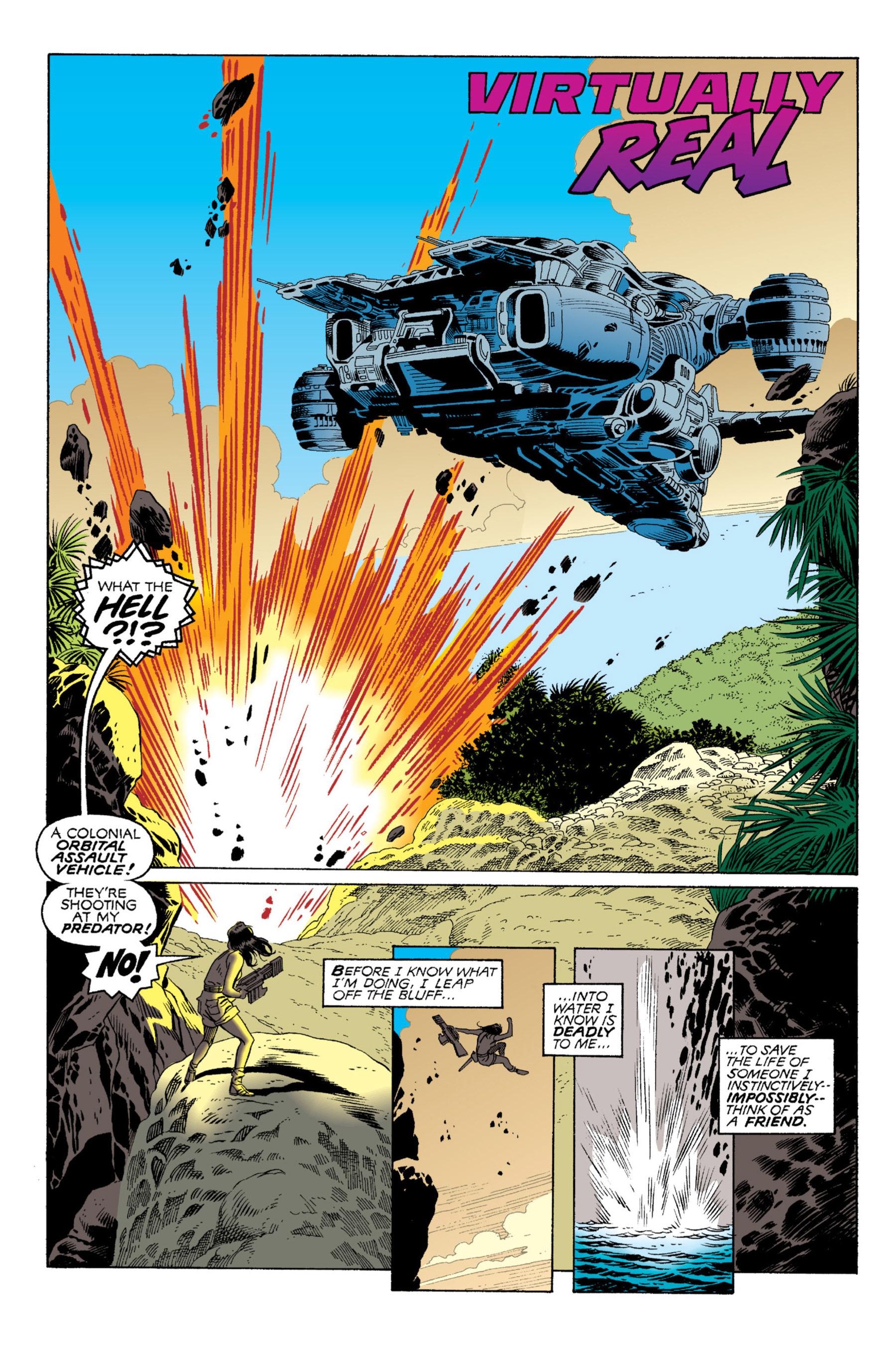 Read online Aliens vs. Predator Omnibus comic -  Issue # _TPB 2 Part 1 - 63