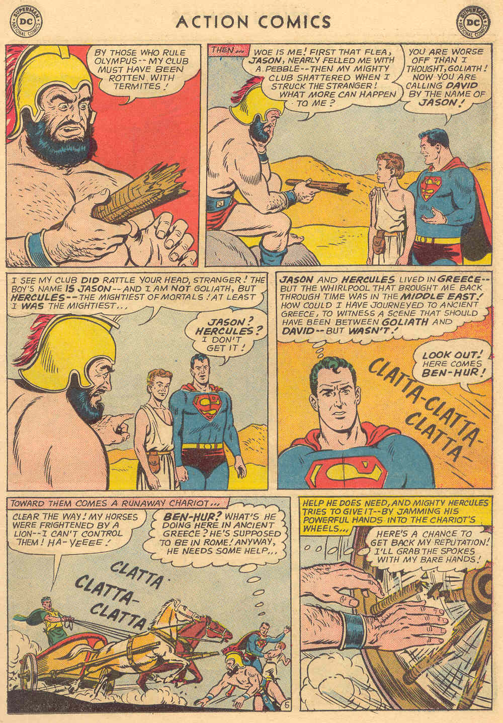 Read online Action Comics (1938) comic -  Issue #308 - 7