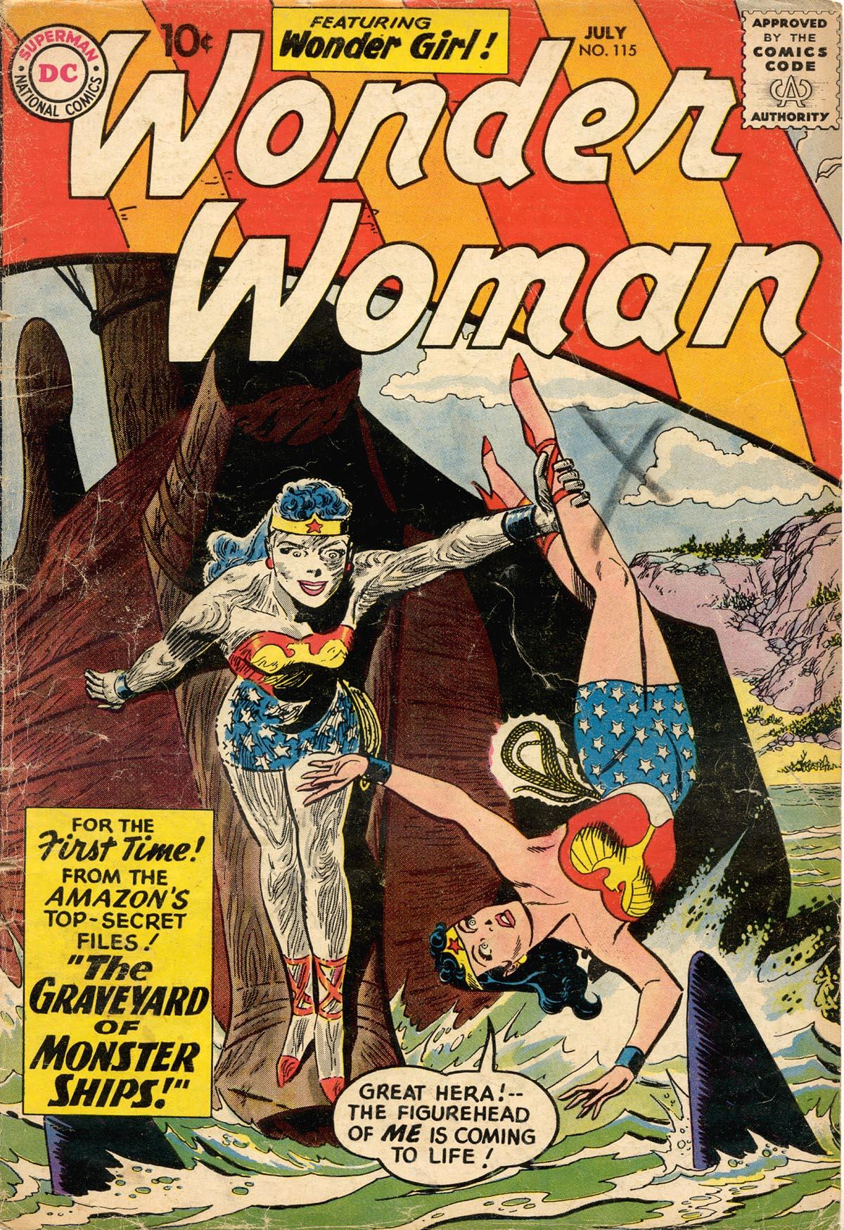 Read online Wonder Woman (1942) comic -  Issue #115 - 1
