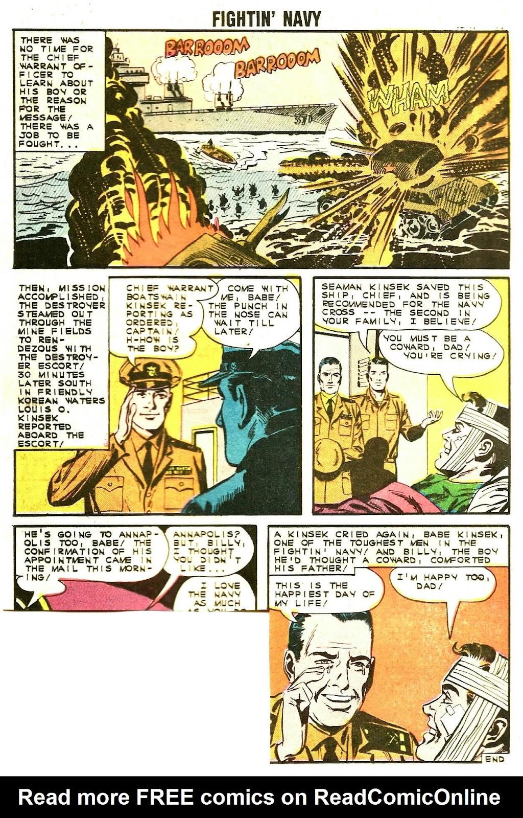 Read online Fightin' Navy comic -  Issue #107 - 16
