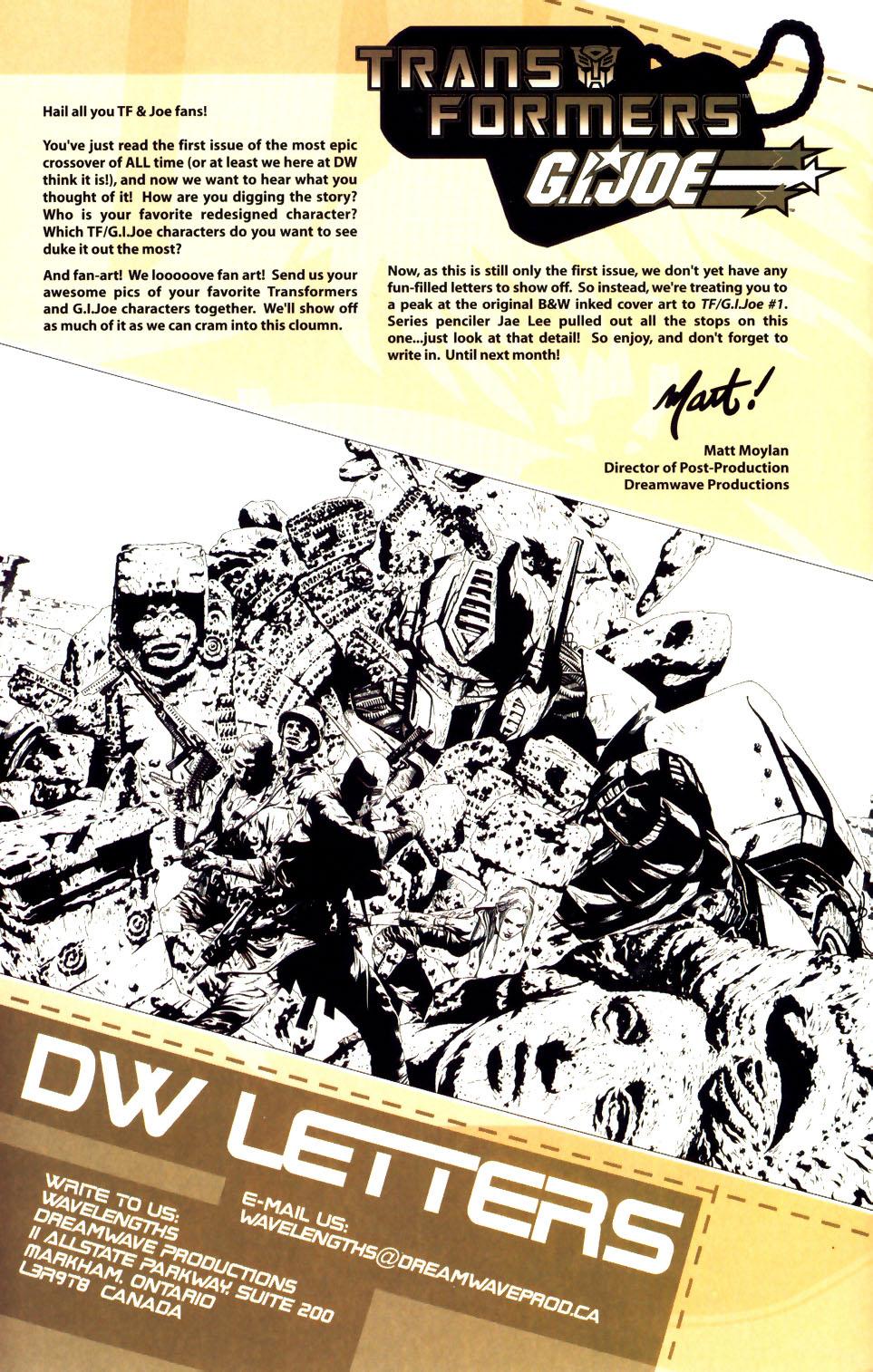 Read online Transformers/G.I. Joe comic -  Issue #1 - 22