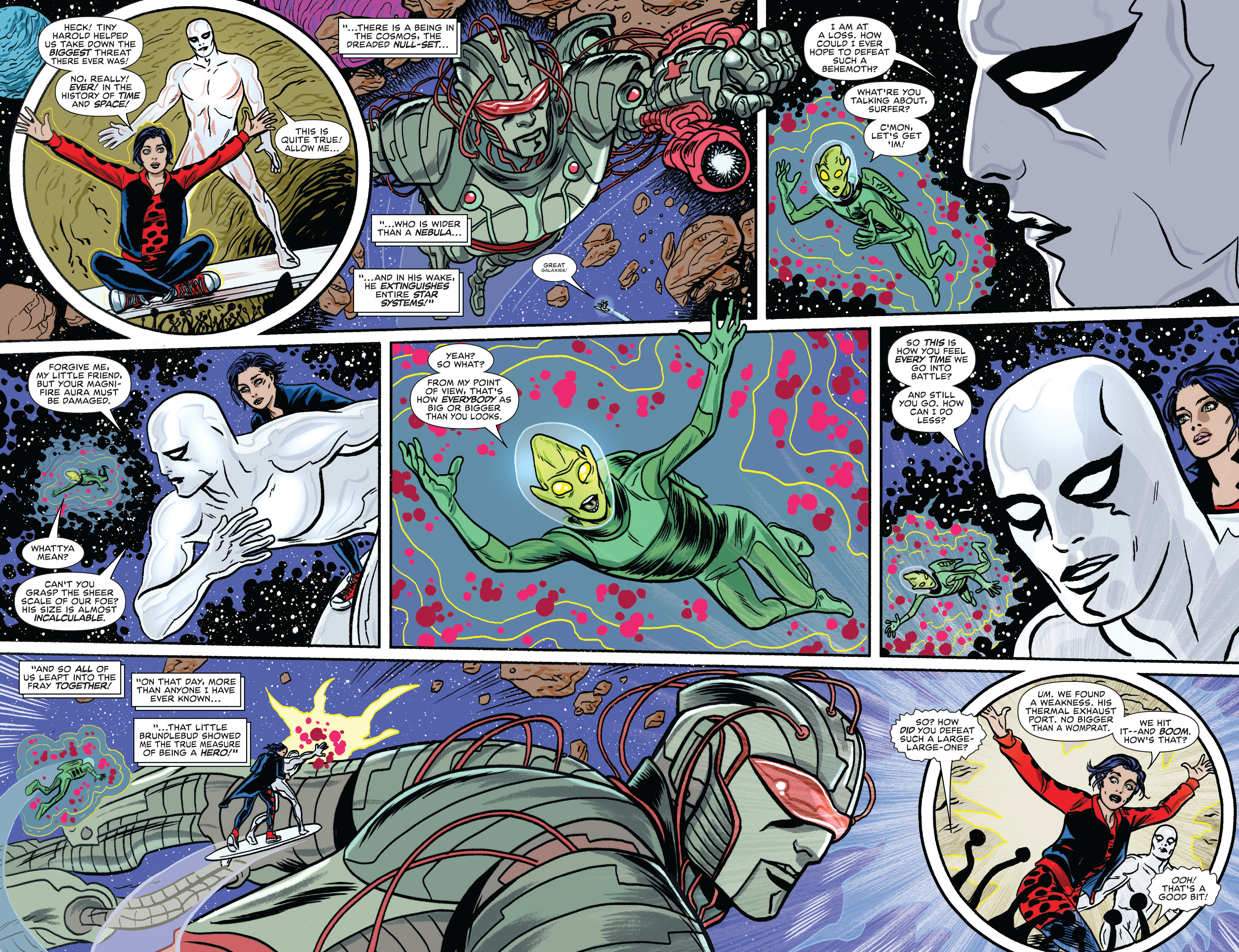 Read online Silver Surfer (2016) comic -  Issue #8 - 10