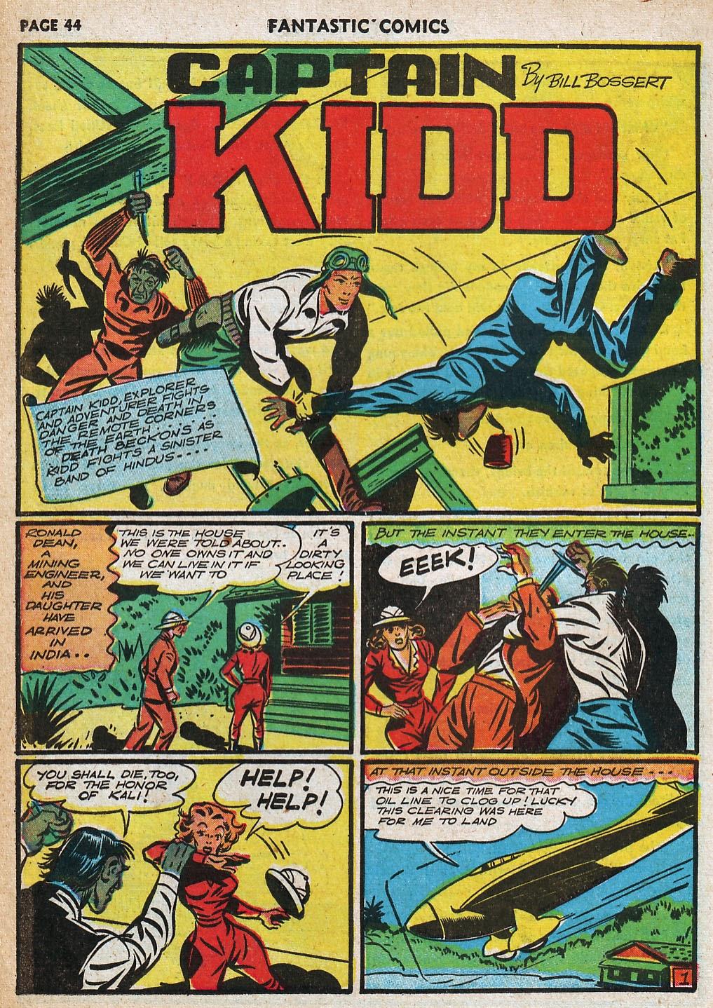 Read online Fantastic Comics comic -  Issue #20 - 44