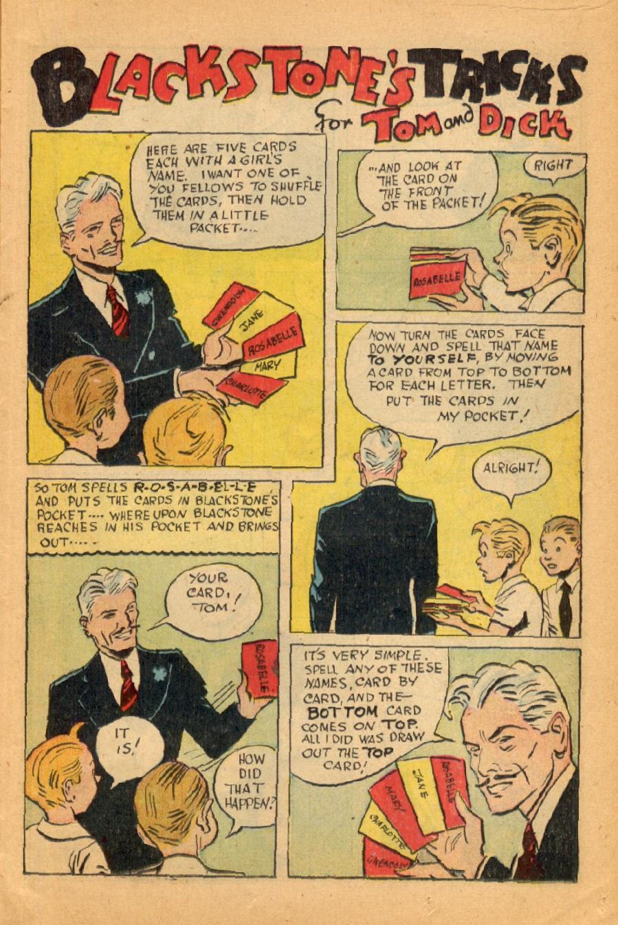 Read online Super-Magician Comics comic -  Issue #45 - 17