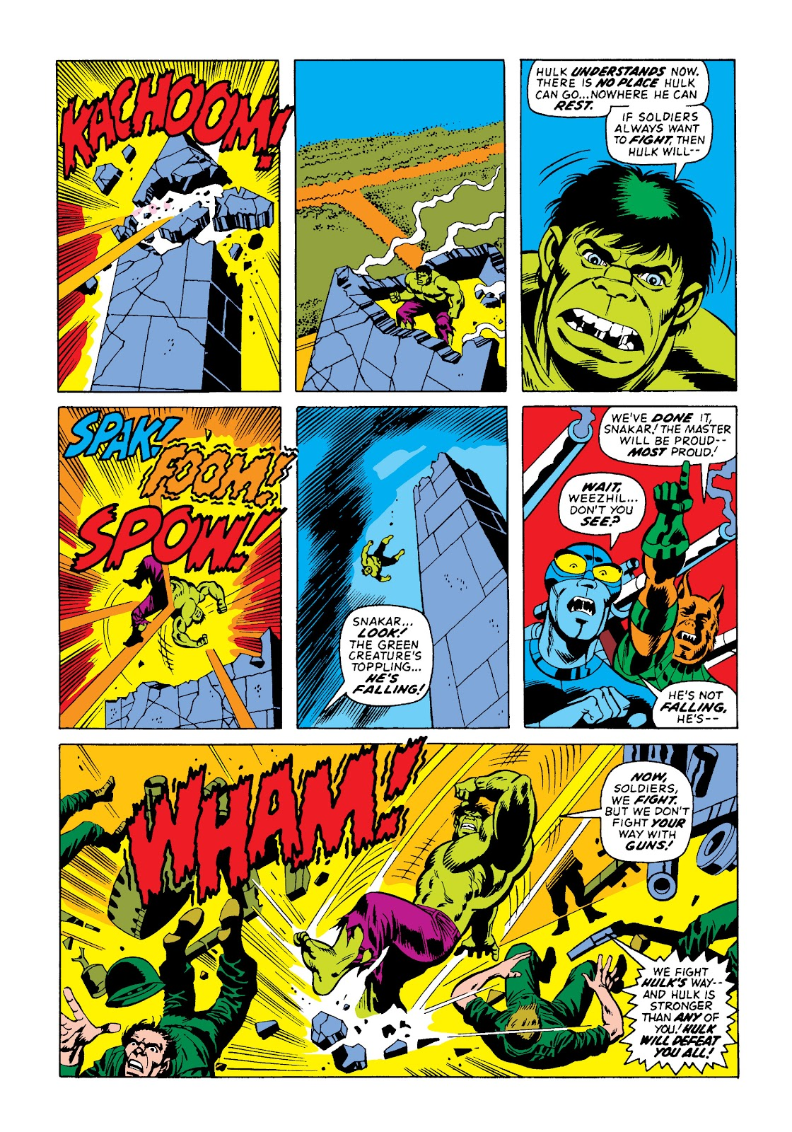 Read online Marvel Masterworks: The Incredible Hulk comic -  Issue # TPB 10 (Part 2) - 23