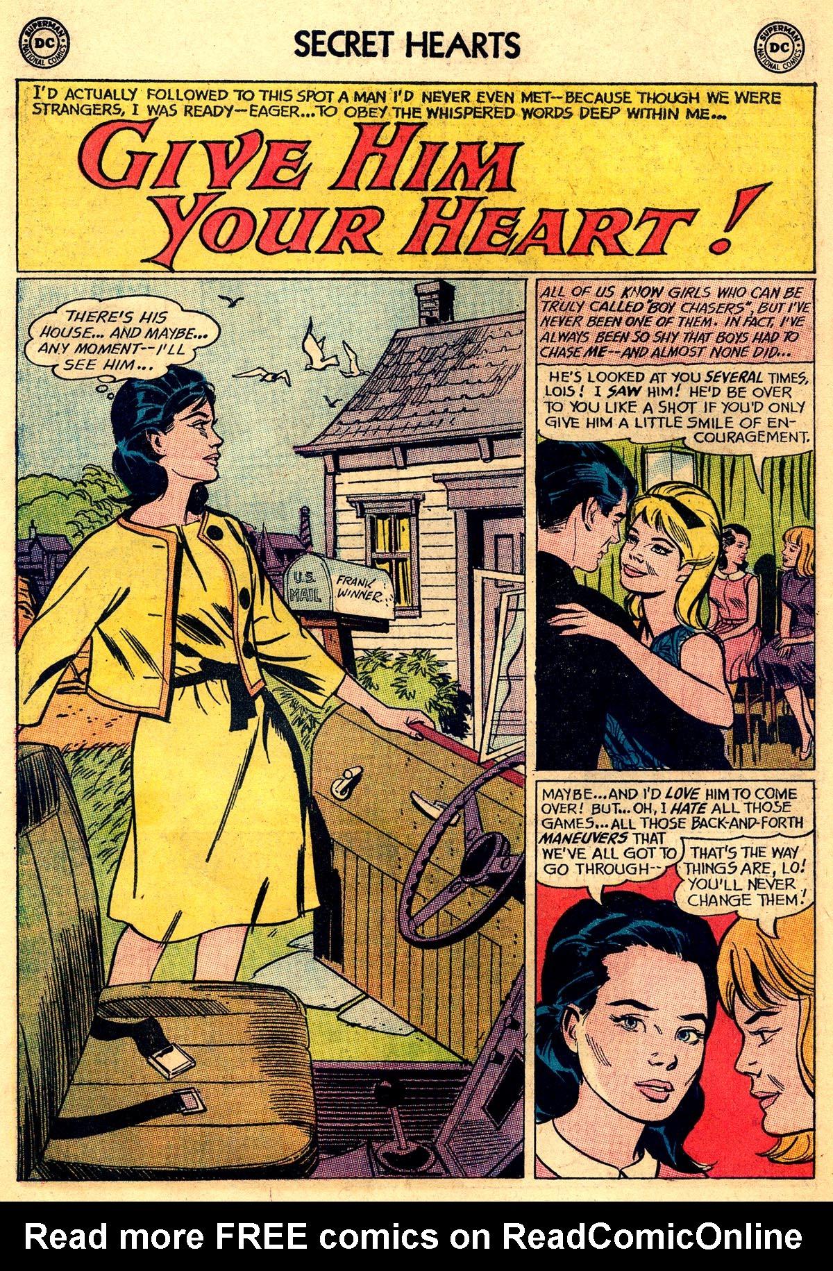 Read online Secret Hearts comic -  Issue #92 - 18