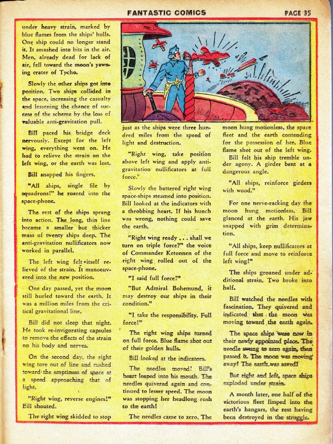 Read online Fantastic Comics comic -  Issue #7 - 37