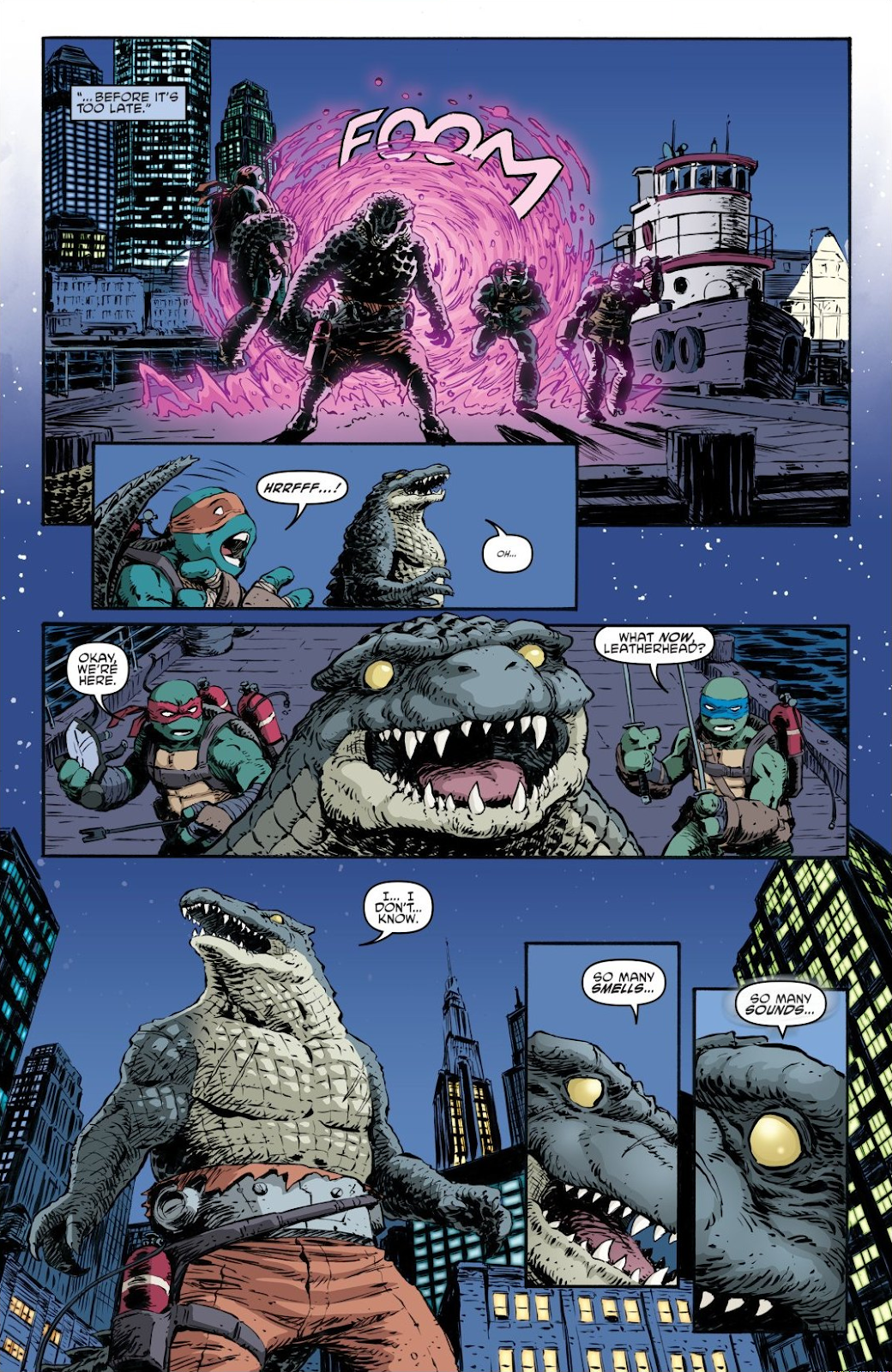 Read online Teenage Mutant Ninja Turtles: The IDW Collection comic -  Issue # TPB 7 (Part 2) - 81