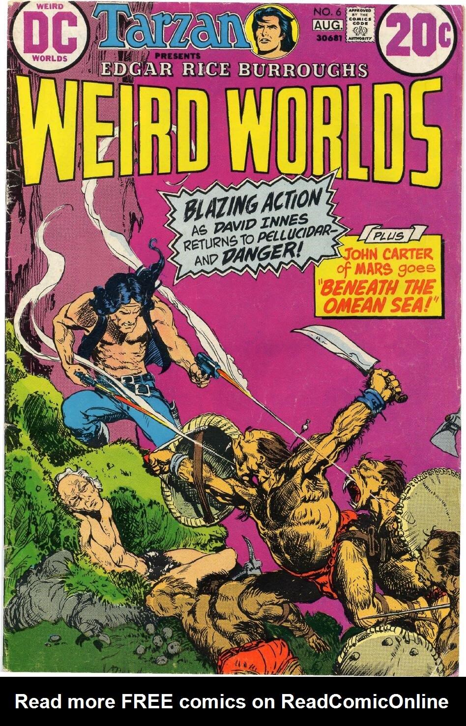 Weird Worlds (1972) 6 Page 1