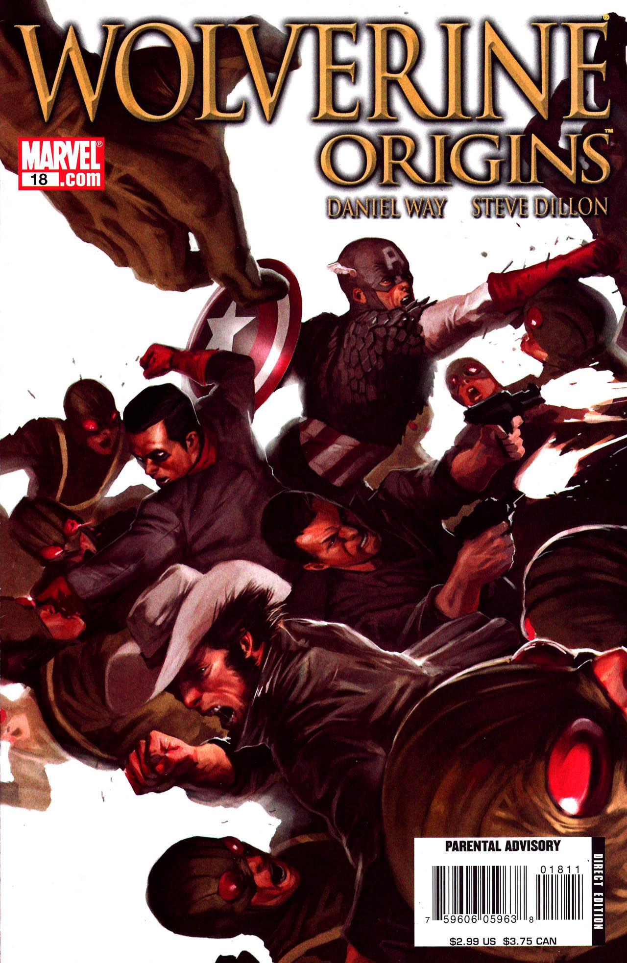 Read online Wolverine: Origins comic -  Issue #18 - 1
