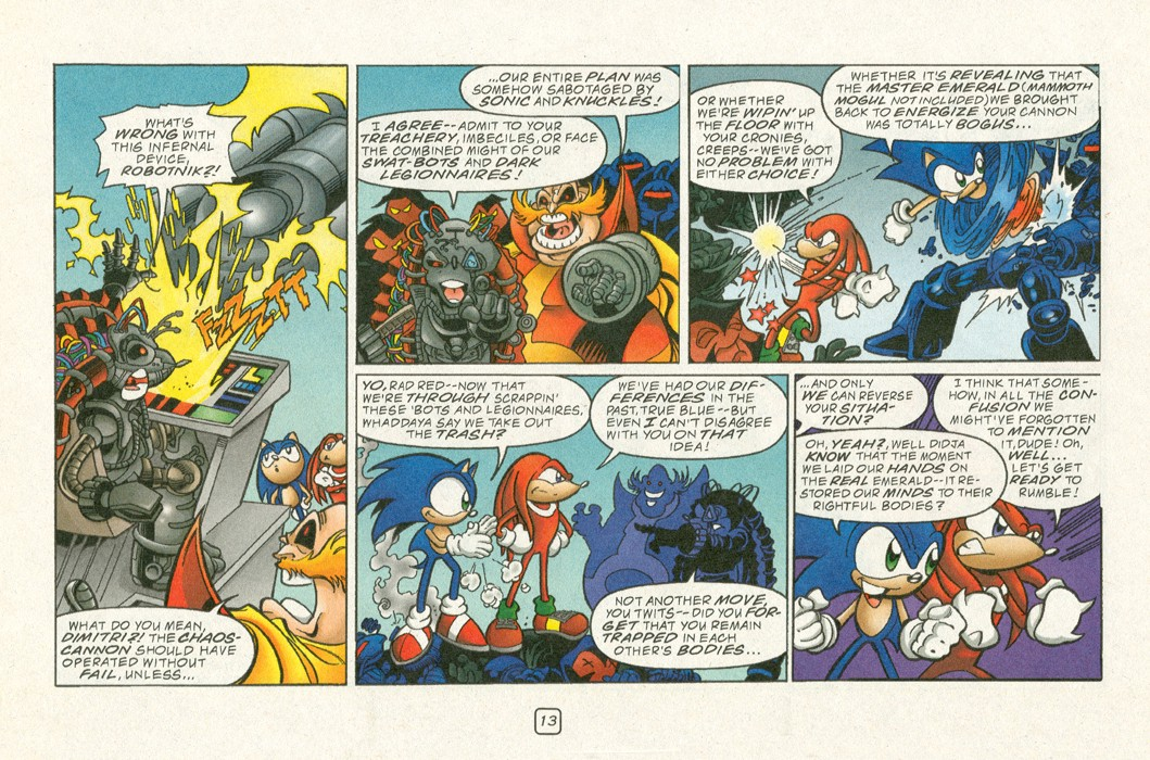 Read online Sonic Super Special comic -  Issue #12 - Sonic and Knuckles visa versa - 16