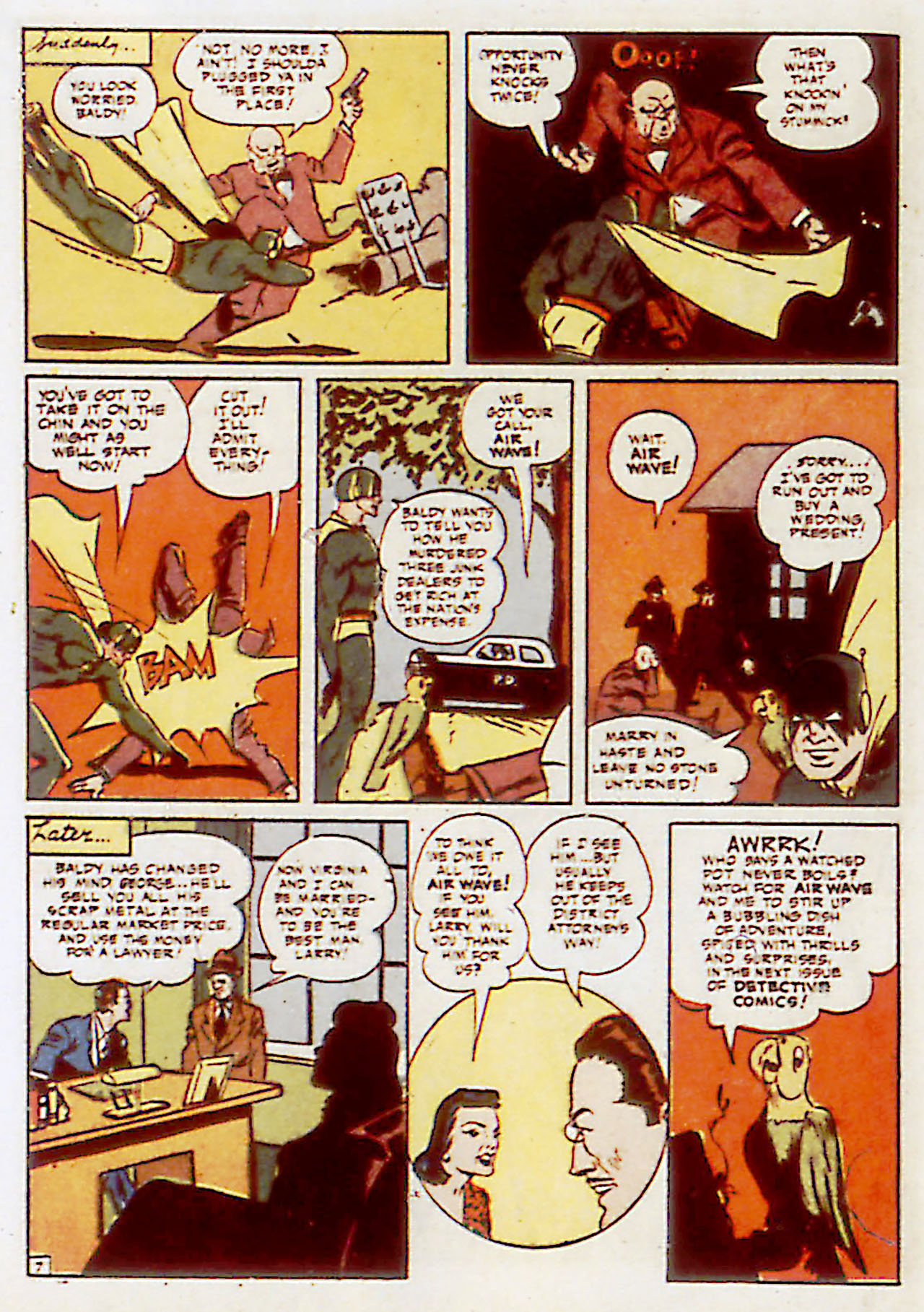 Read online Detective Comics (1937) comic -  Issue #71 - 56
