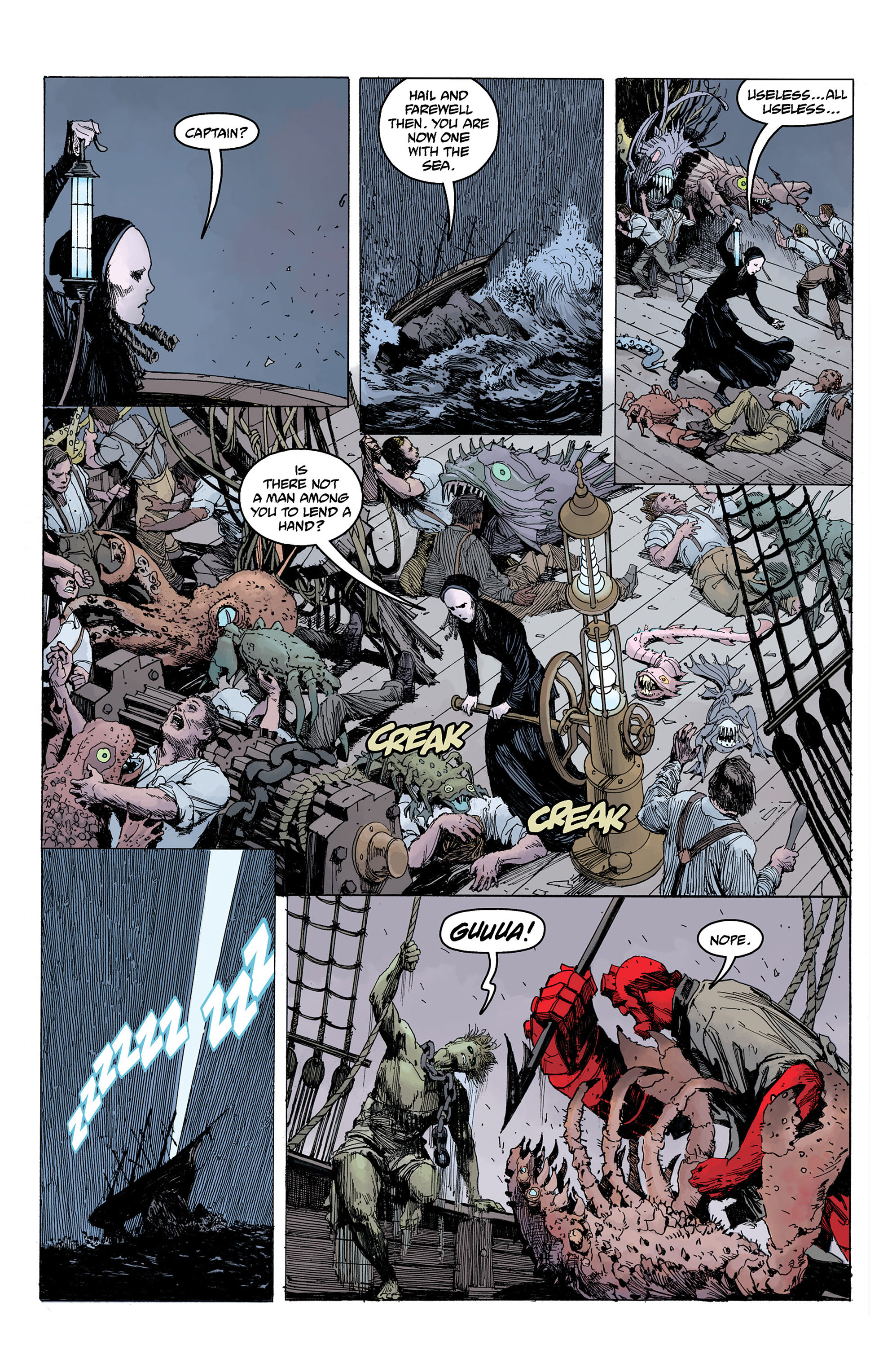 Read online Hellboy: Into the Silent Sea comic -  Issue # Full - 48