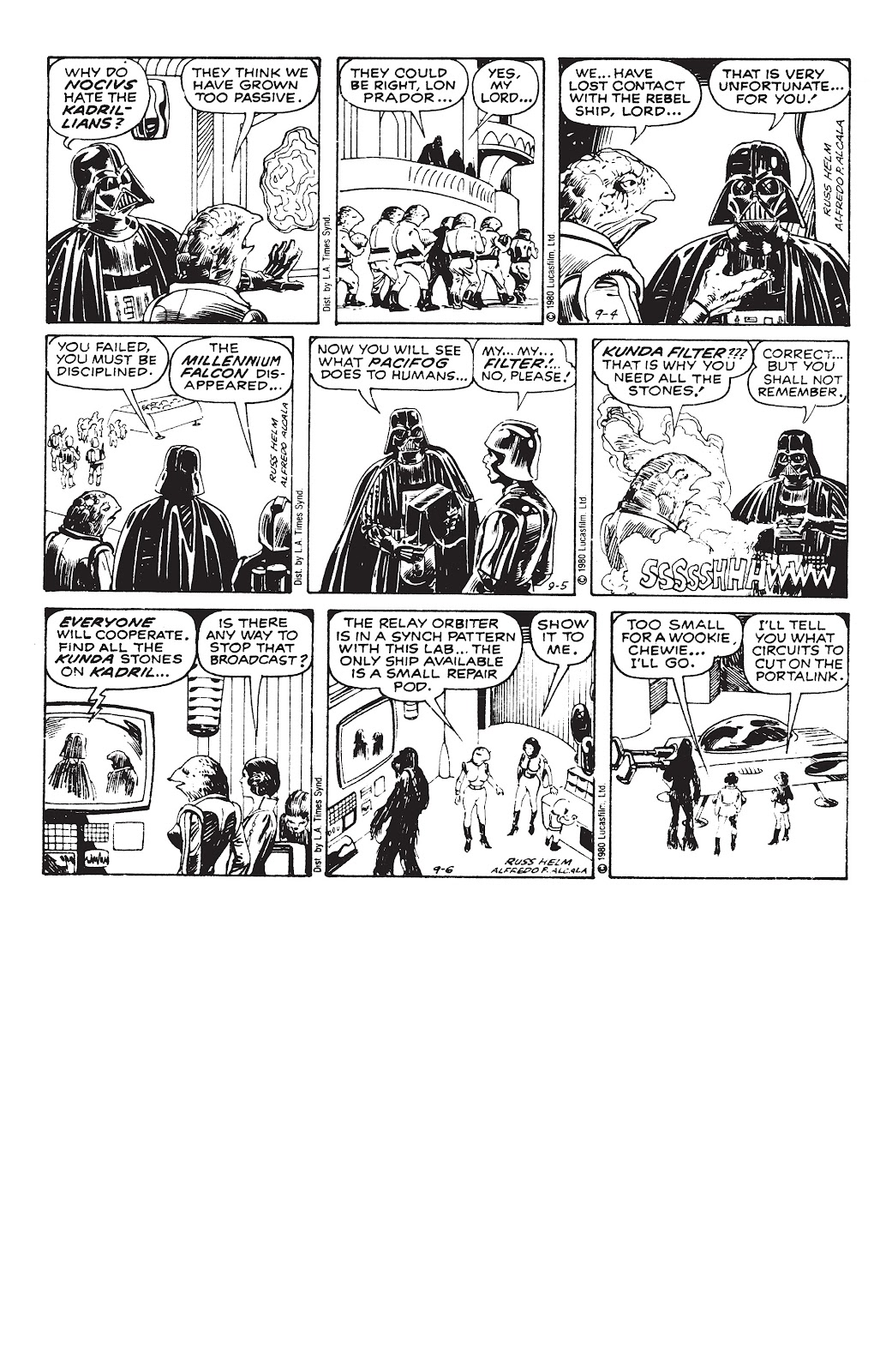Read online Star Wars Legends: The Newspaper Strips - Epic Collection comic -  Issue # TPB (Part 3) - 91