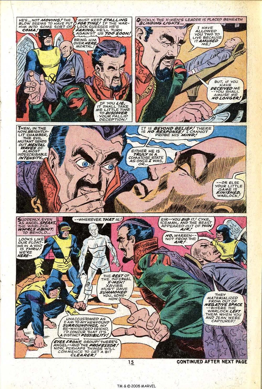 Read online Uncanny X-Men (1963) comic -  Issue #78 - 17