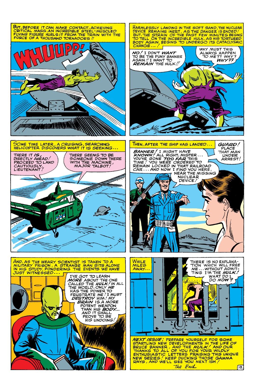 Read online Marvel Masterworks: The Incredible Hulk comic -  Issue # TPB 2 (Part 1) - 67