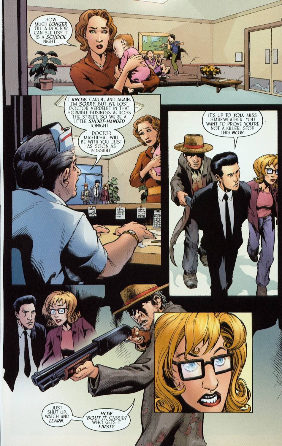 Read online Route 666 comic -  Issue #6 - 16