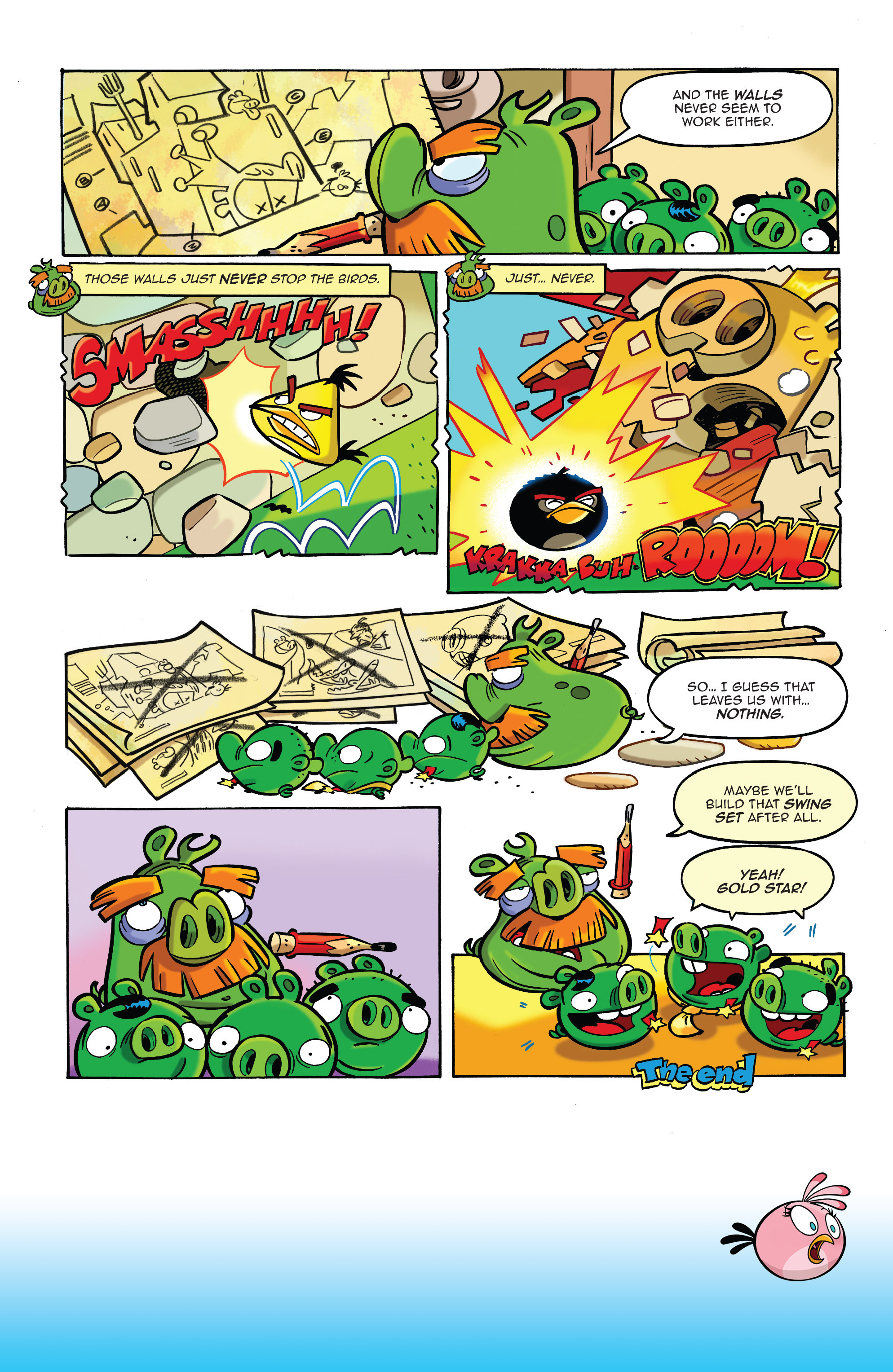 Read online Angry Birds Comics (2014) comic -  Issue #10 - 12