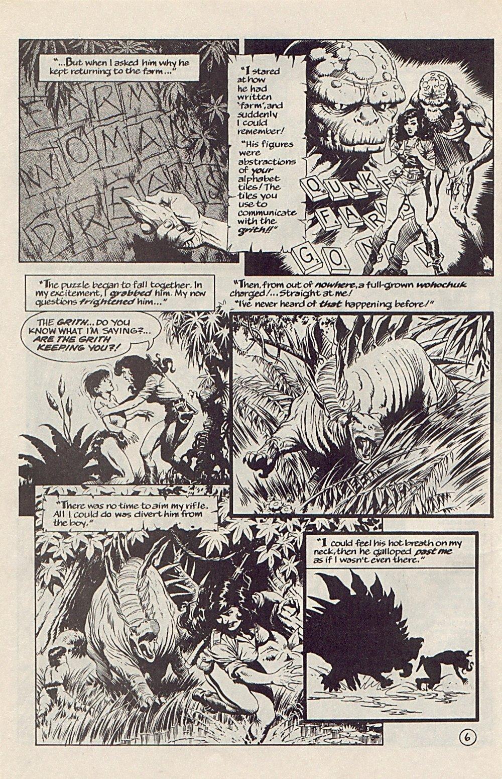 Read online Xenozoic Tales comic -  Issue #6 - 9