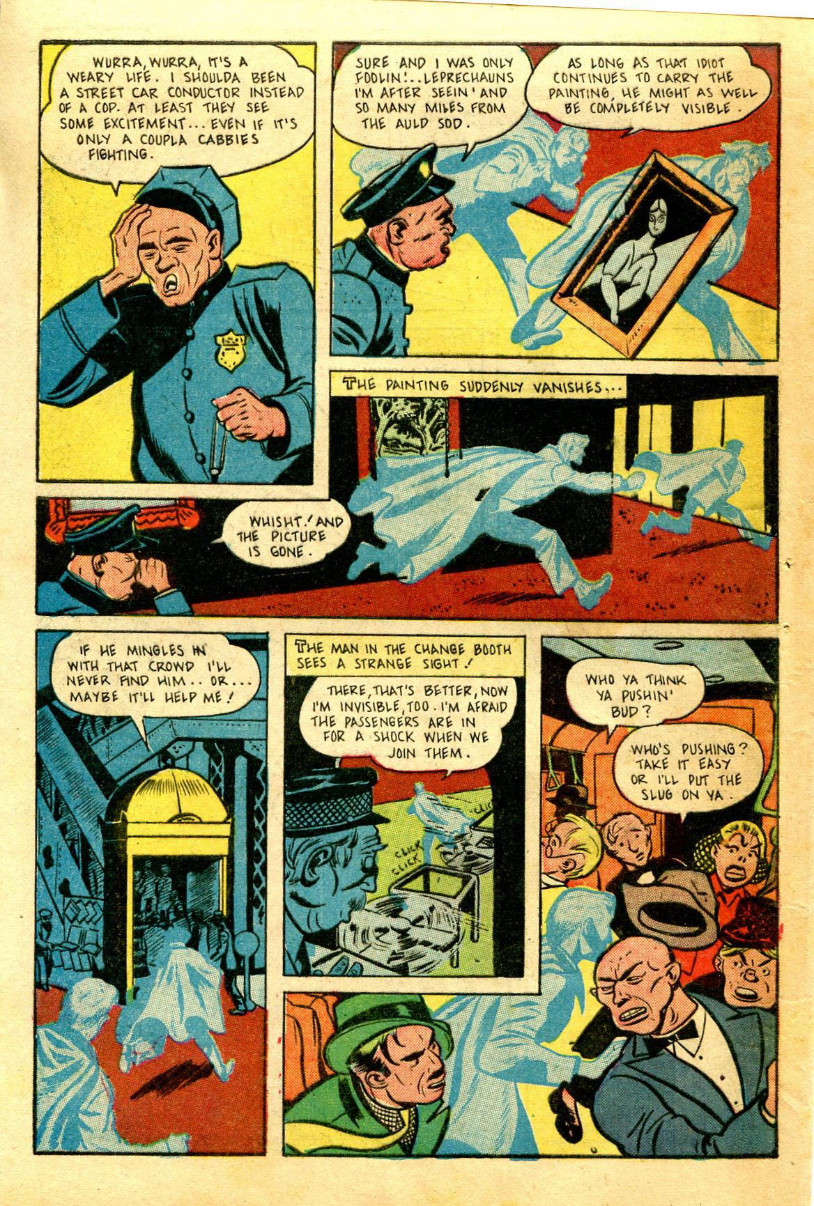 Read online Shadow Comics comic -  Issue #43 - 48