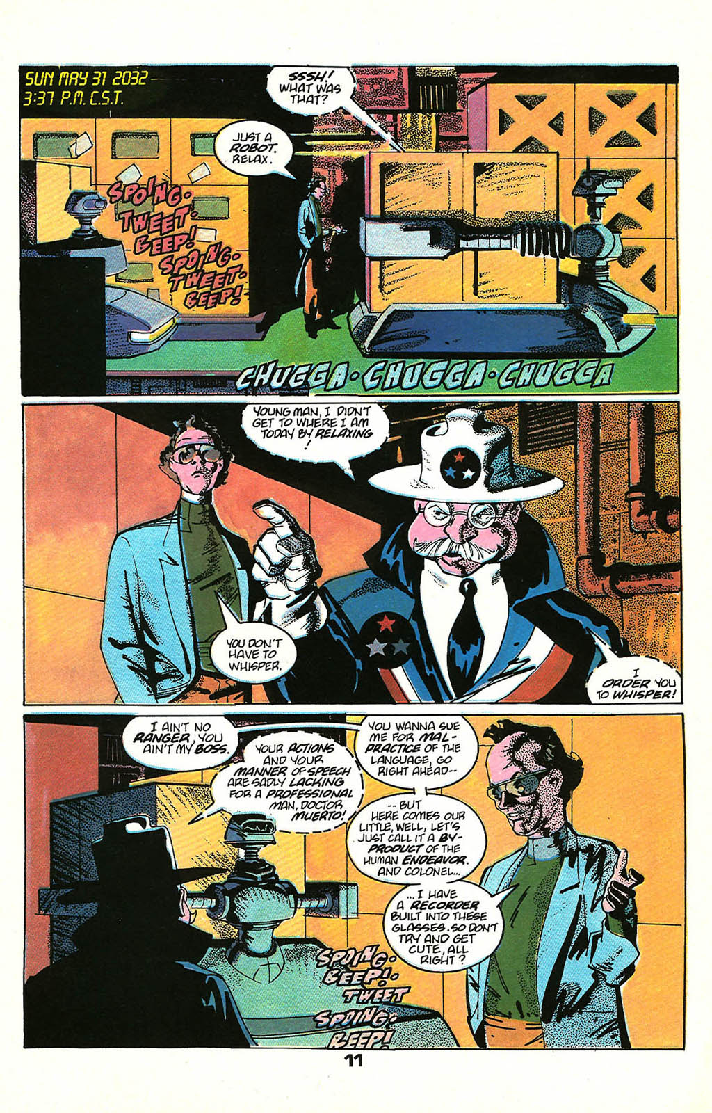Read online American Flagg! comic -  Issue #48 - 13